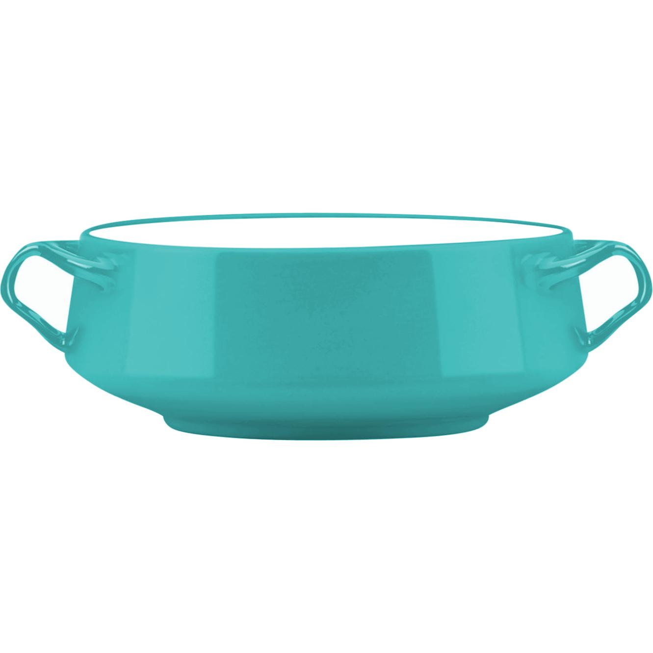 Dansk Kobenstyle Teal Large Stoneware Serving Bowl