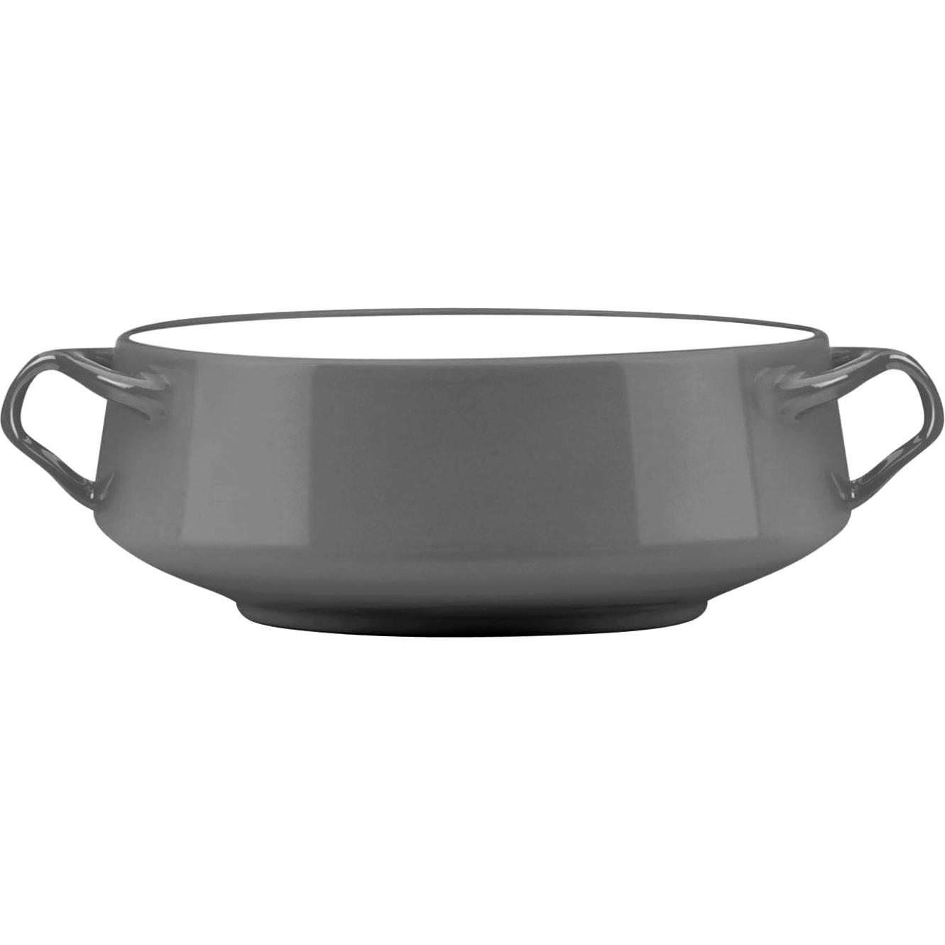 Dansk Kobenstyle Slate Large Stoneware Serving Bowl
