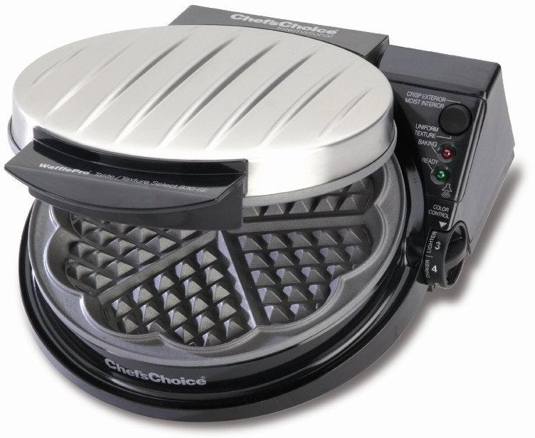 Chef's Choice Black Waffle Pro