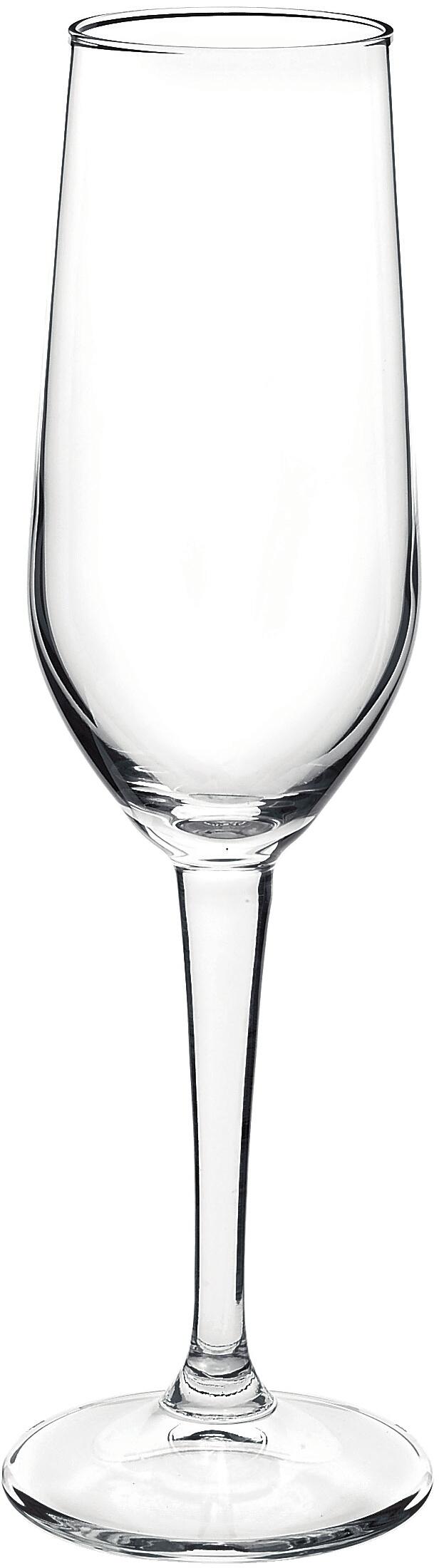 Bormioli Rocco Riserva Champagne Flute, Set of 6