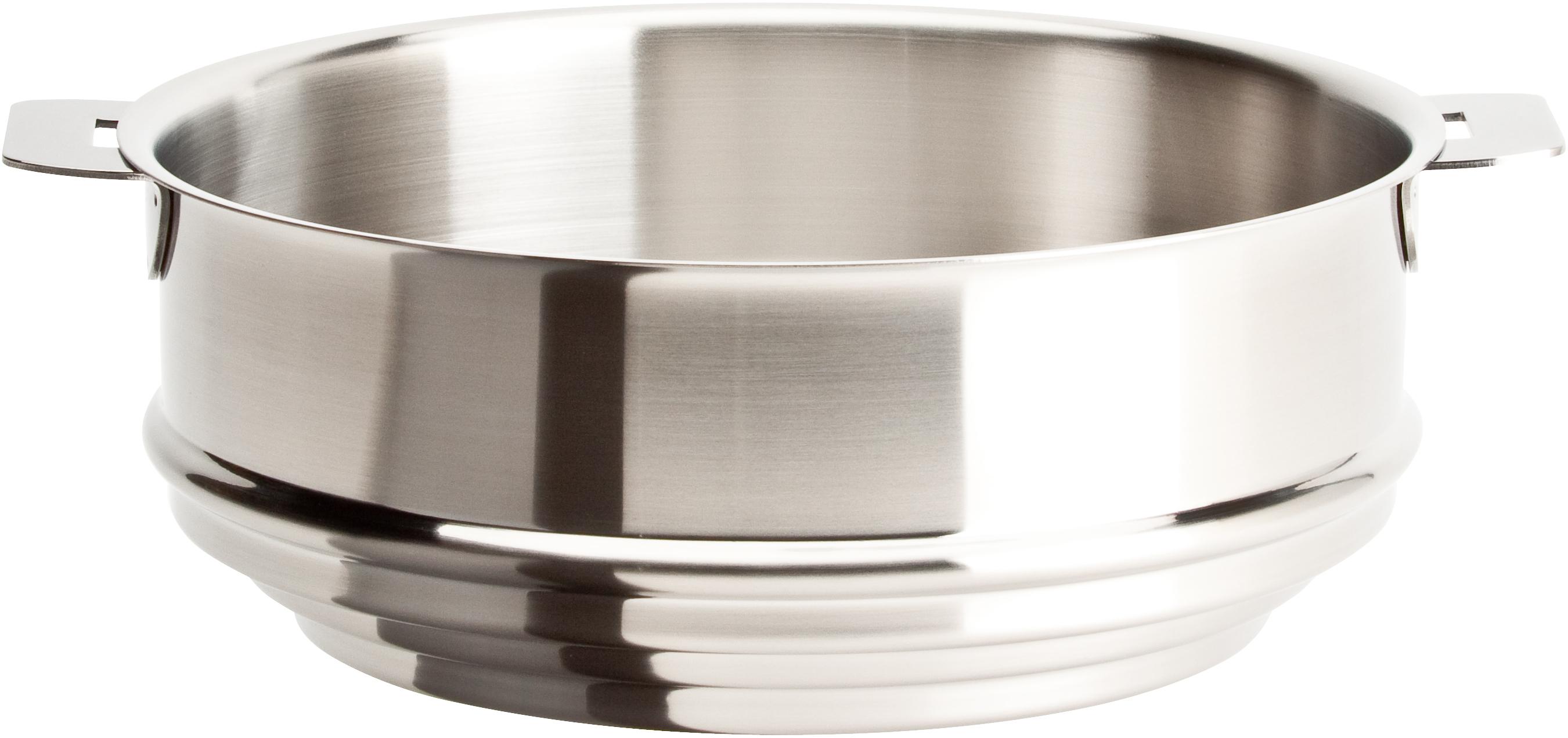 Cristel Strate L Stainless Steel 9.5 Inch Universal Steamer Insert