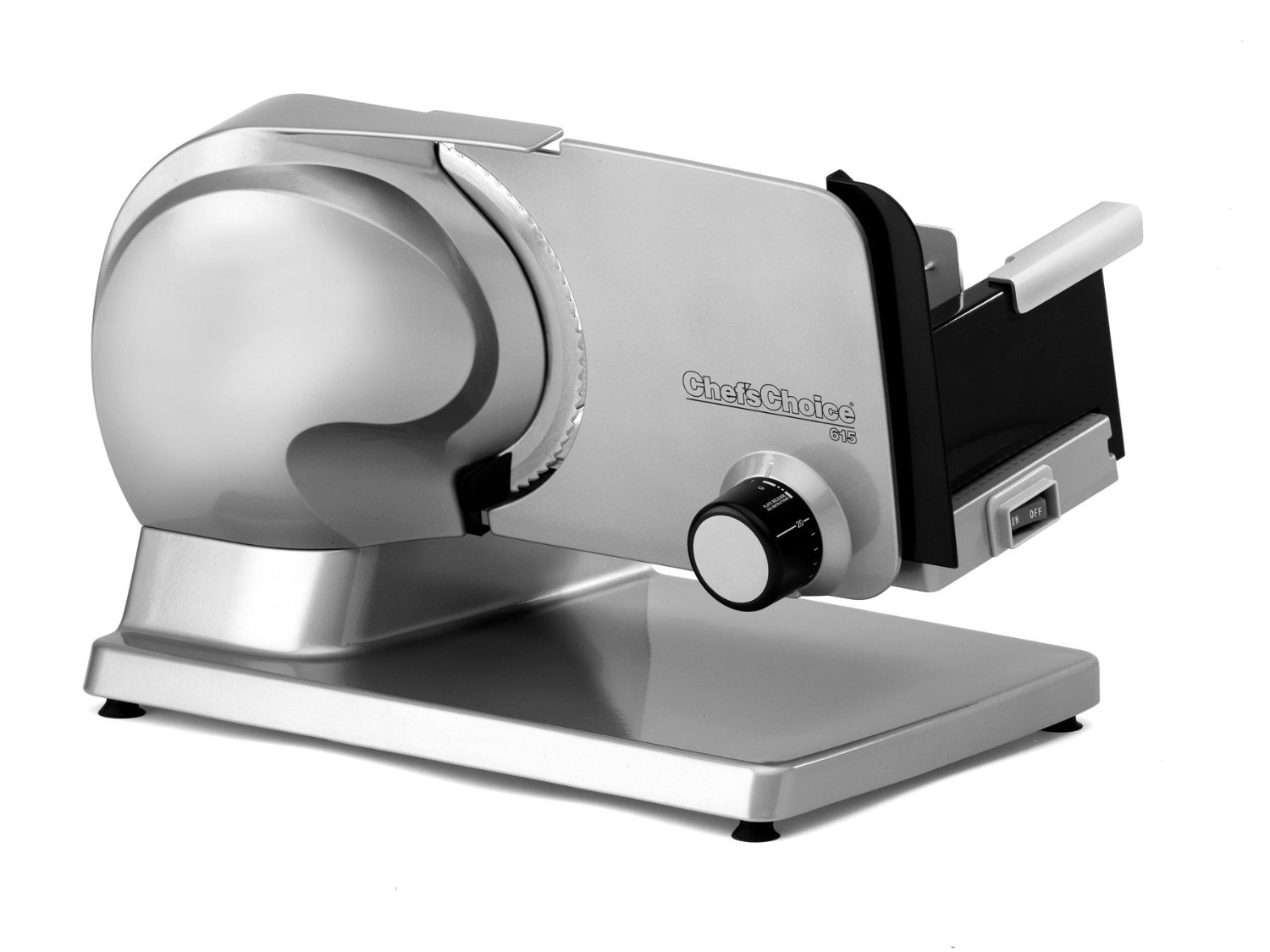 Edgecraft Chef's Choice Stainless Steel Premium Electric Food Slicer #615