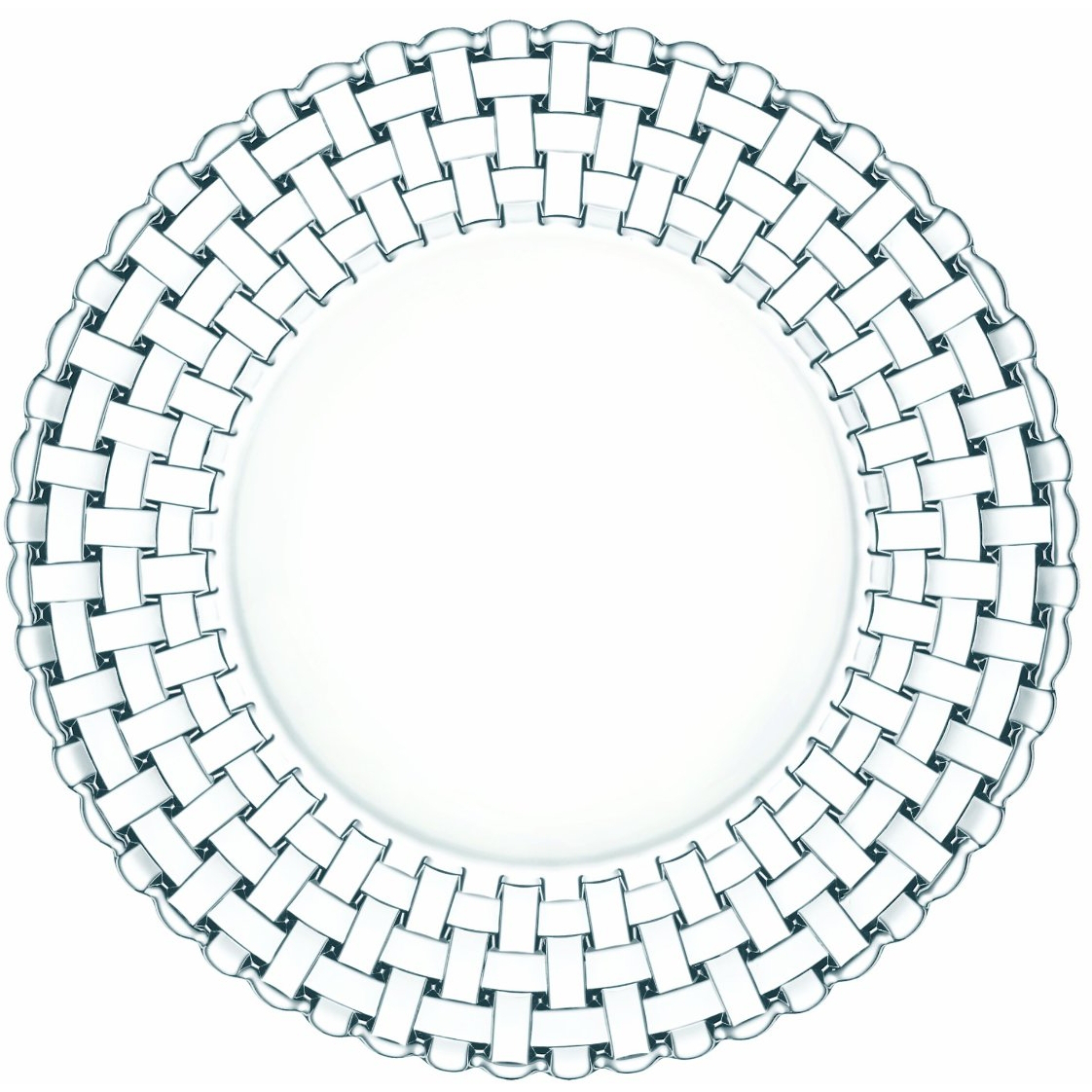 Nachtmann Dancing Stars Bossa Nova Crystal Salad Plate, 9 Inch