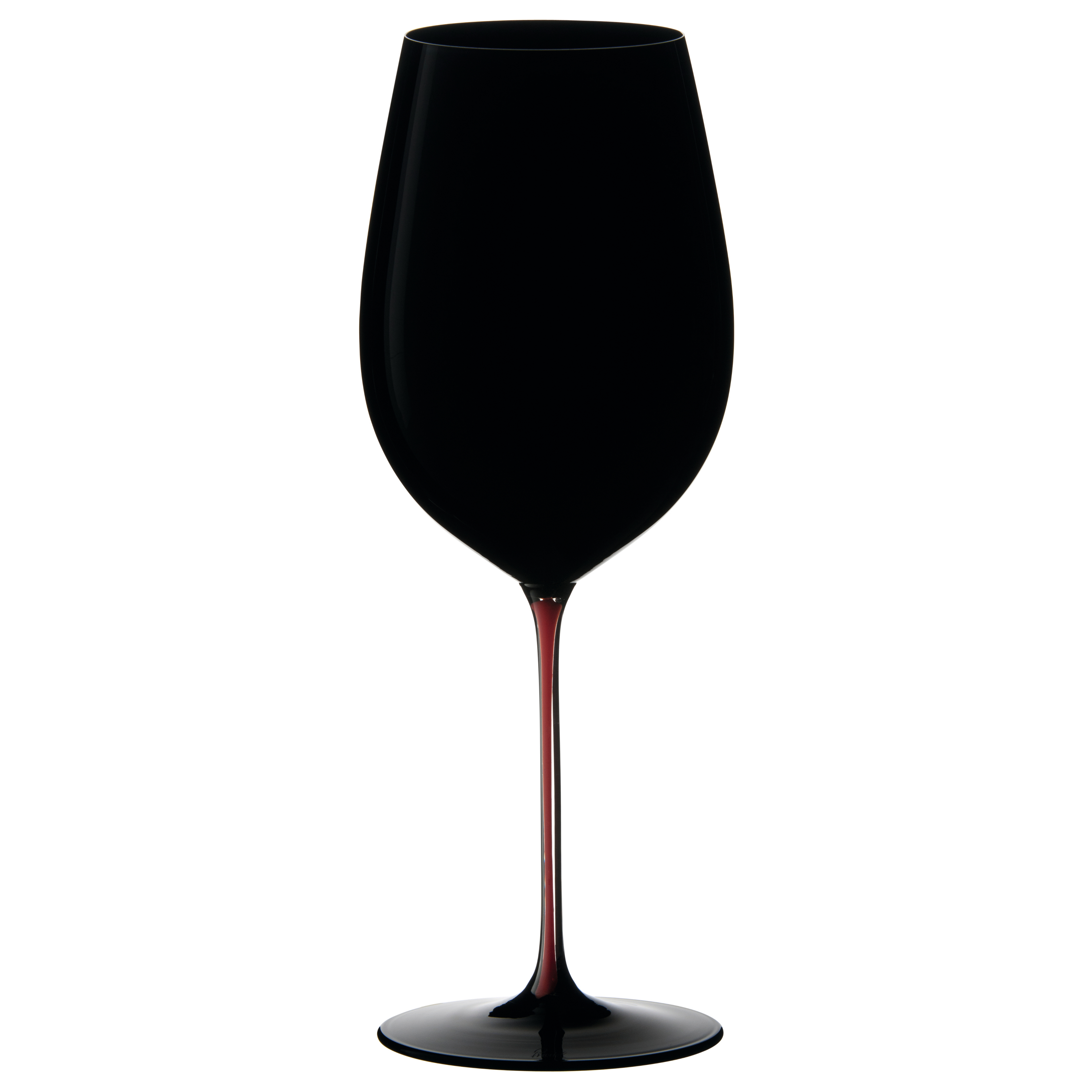 Riedel Sommeliers Black and Red Bordeaux Grand Cru Wine Glass, 30.5 Ounce