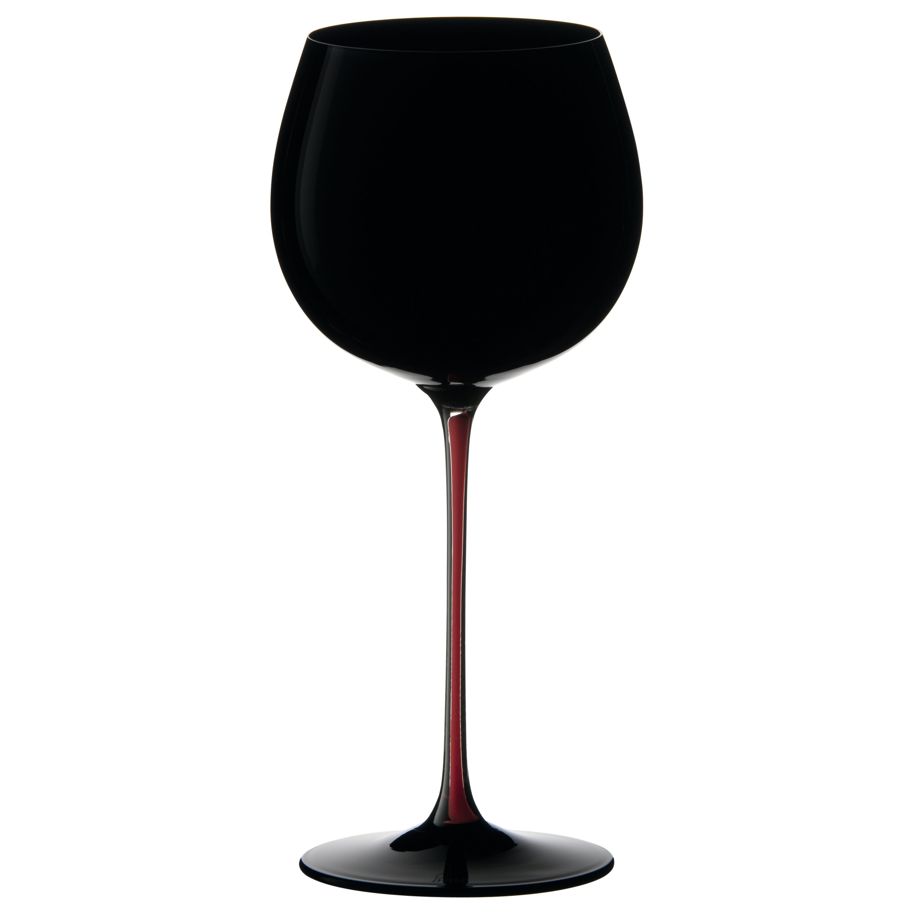 Riedel Sommeliers Black and Red Montrachet Wine Glass, 18.5 Ounce