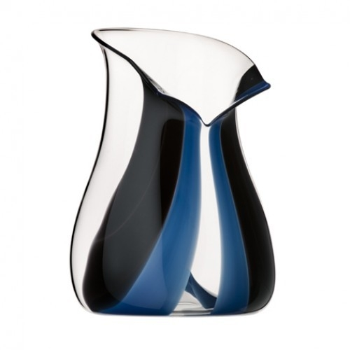 Riedel Black Tie Blue Leaded Crystal Champagne Cooler