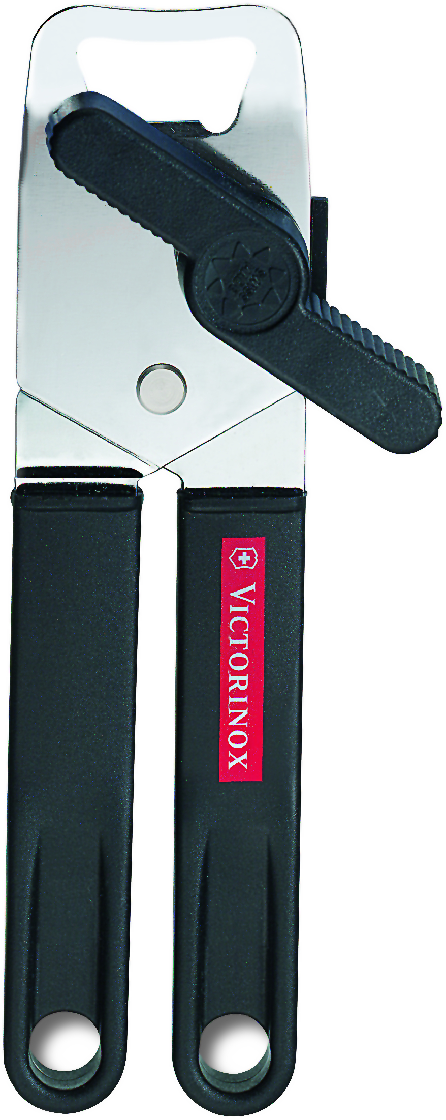 Victorinox Hand-Held Can Opener with Black Polypropylene Handle