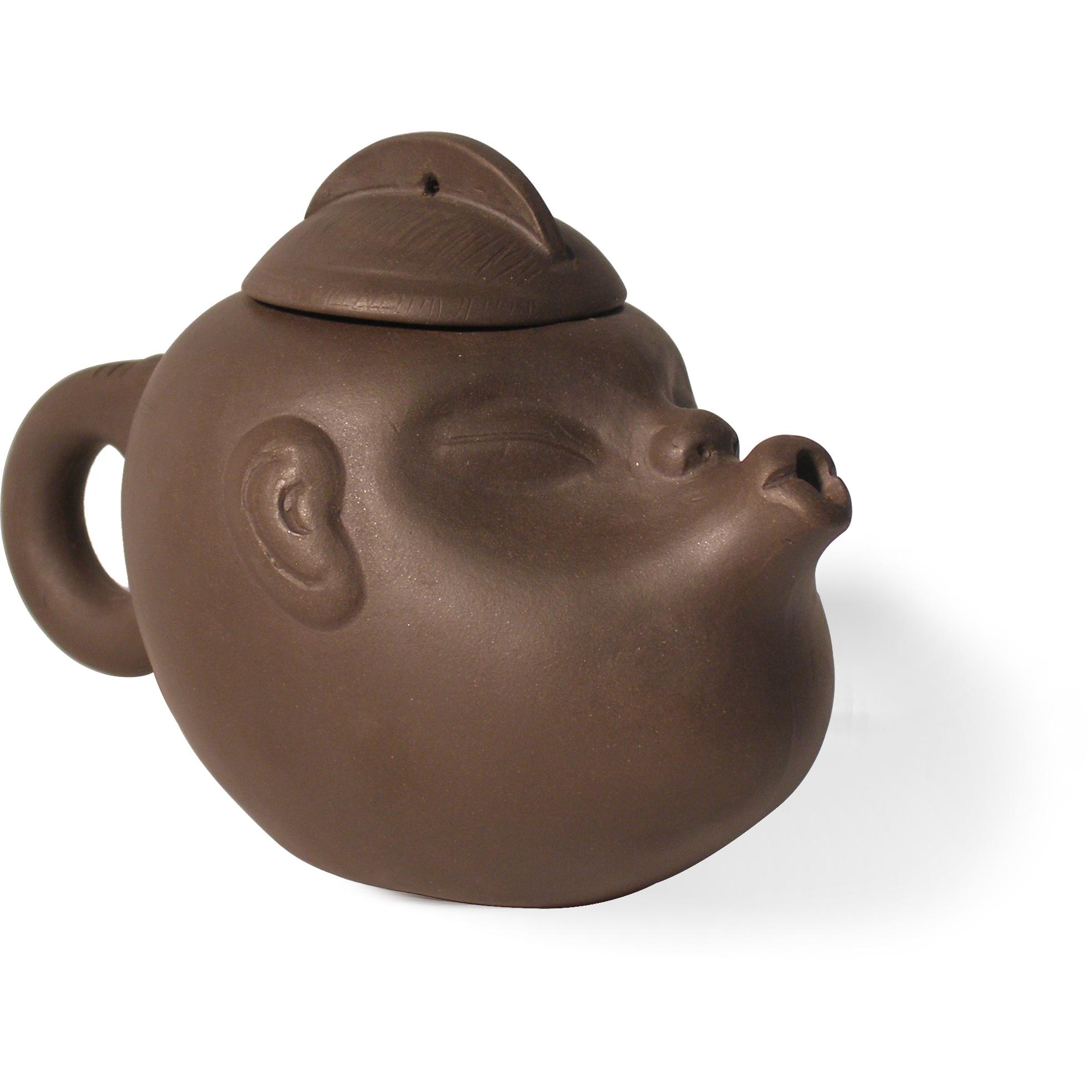 Yixing Kiss Face Teapot, 8 Ounce