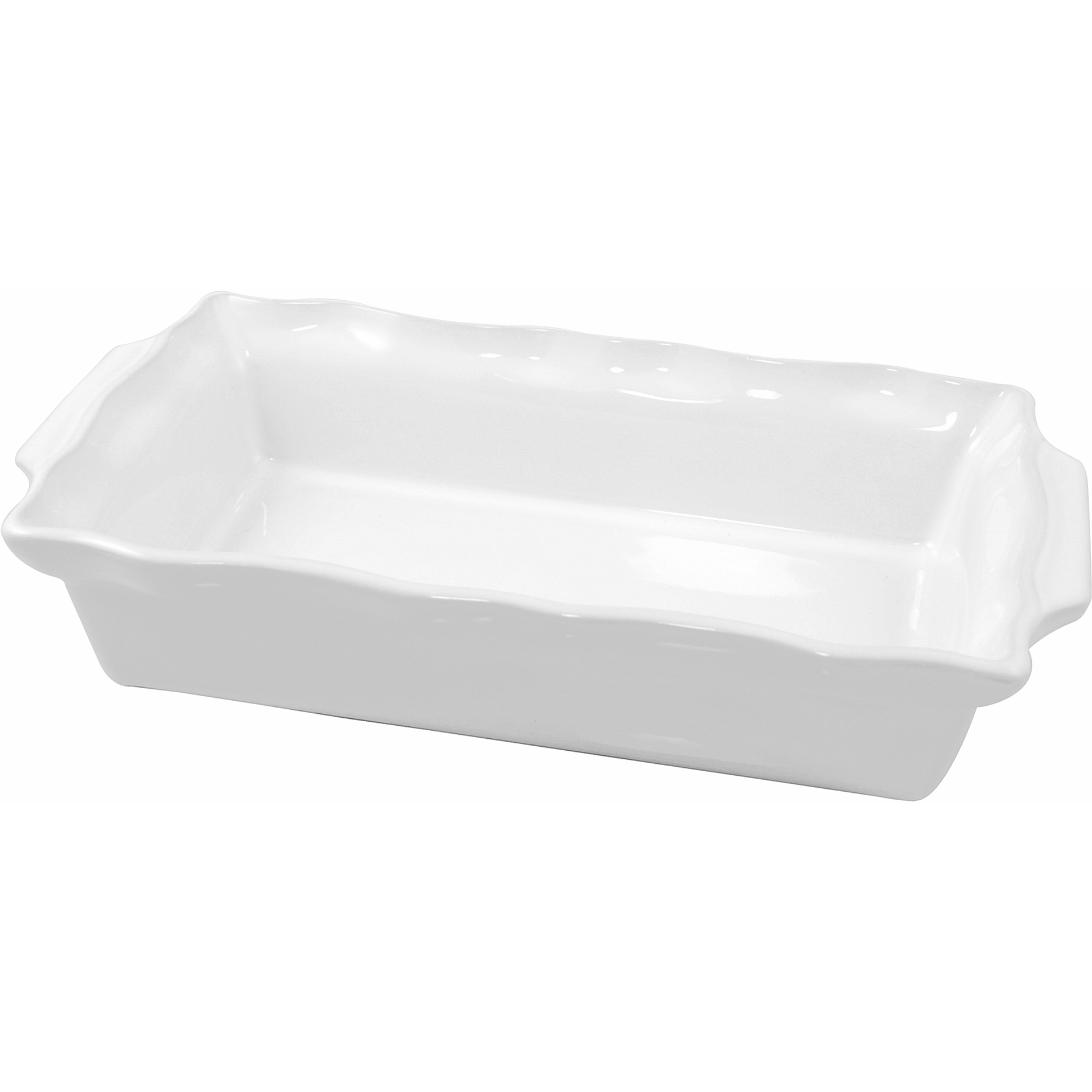 Le Cordon Bleu Paris By Swissmar Rectangular Blanc Ceramic 1.7 Quart Roasting Dish