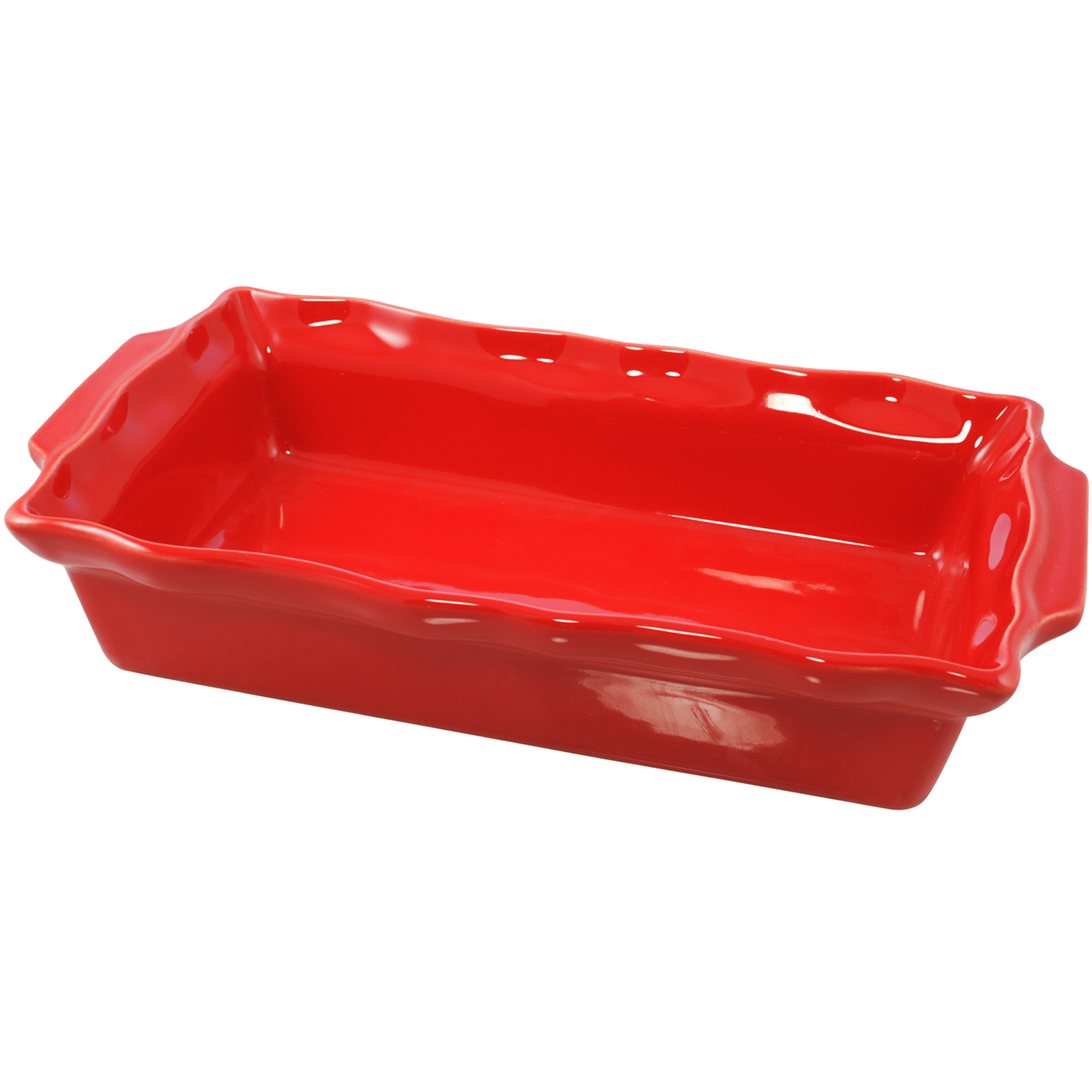 Le Cordon Bleu Paris By Swissmar Rectangular Rouge Ceramic 1.7 Quart Roasting Dish