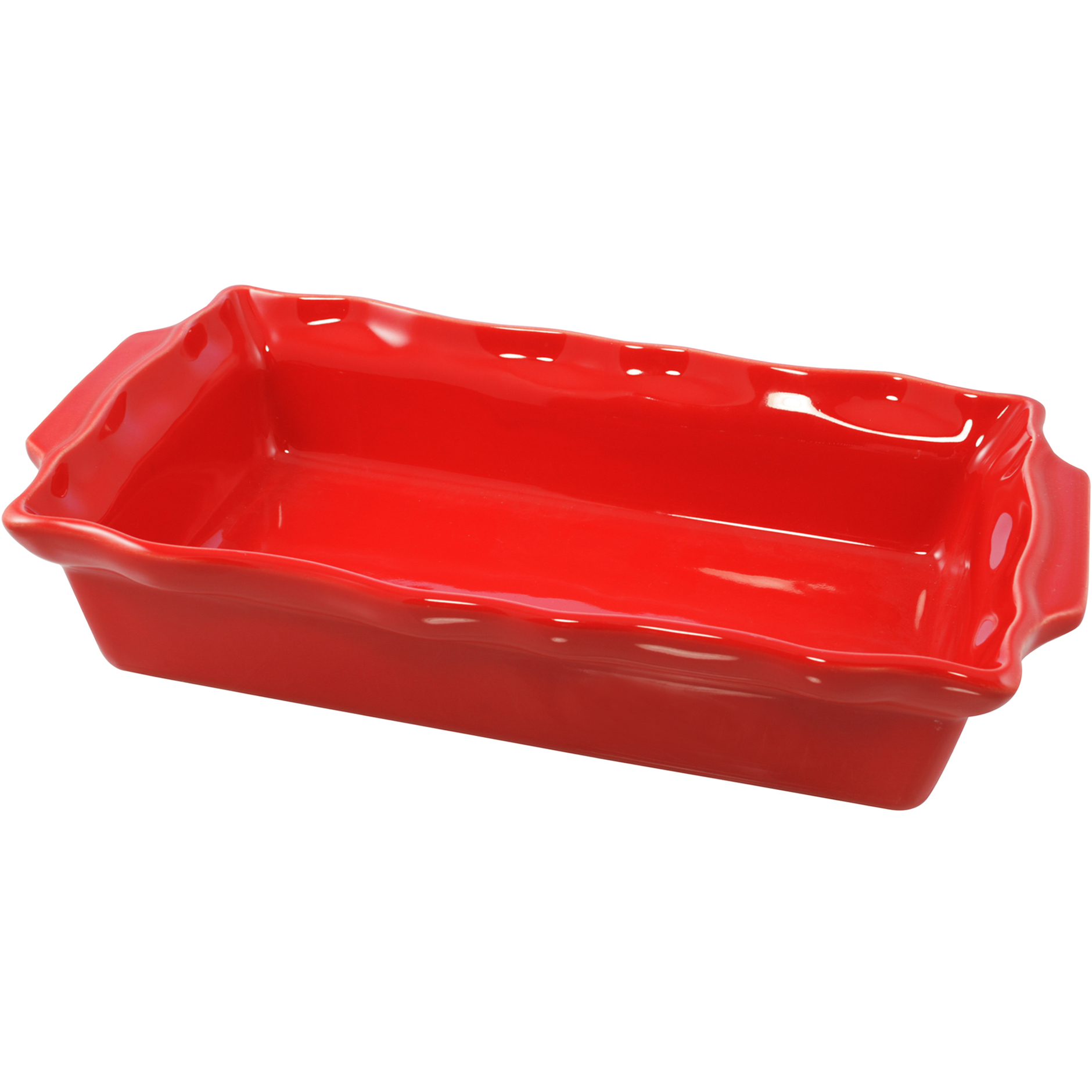 Le Cordon Bleu Paris By Swissmar Rectangular Rouge Ceramic 3 Quart Roasting Dish