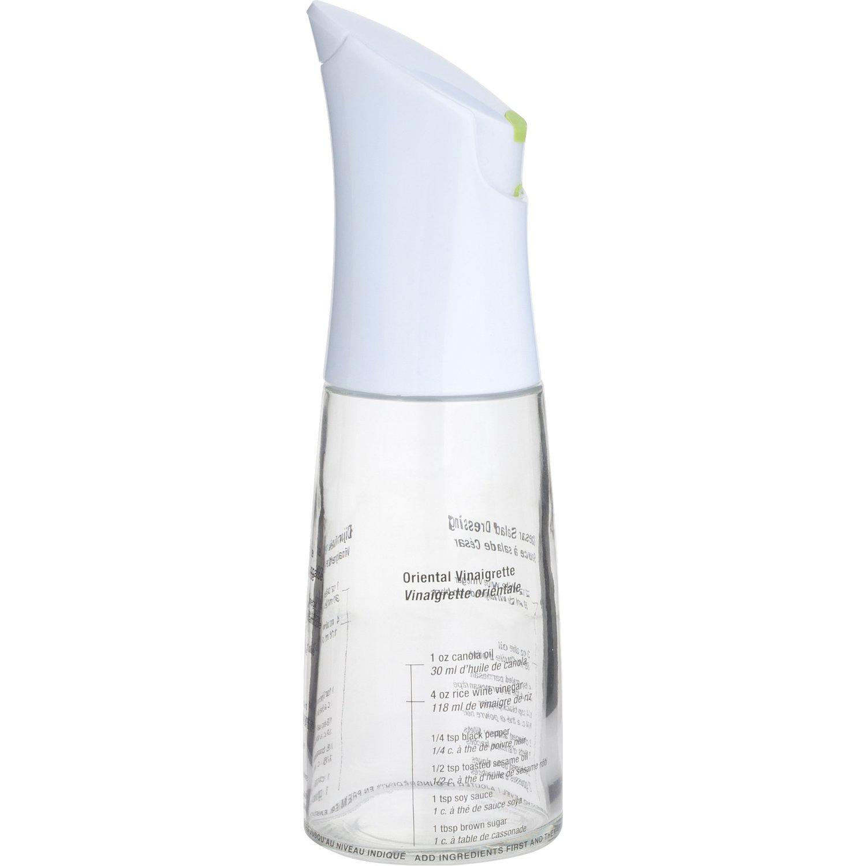 Trudeau Glass Vinaigrette Dressing Mixer Bottle, 12 Ounce