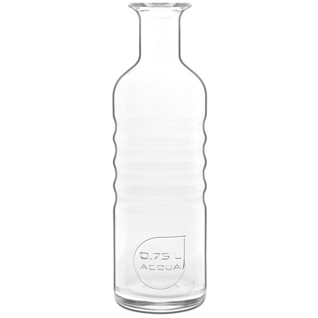 Luigi Bormioli Optima Water Bottle, 0.75 Liter