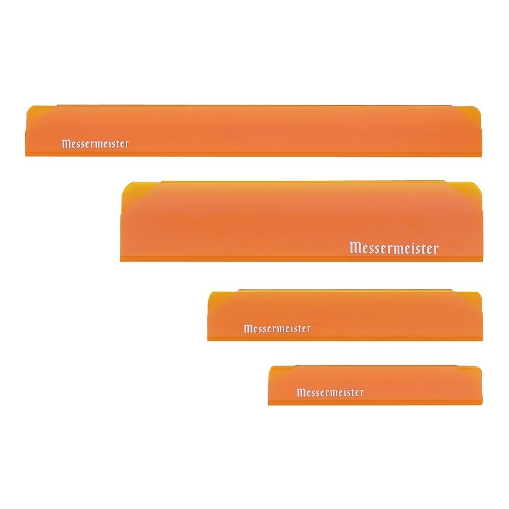 Messermeister Orange 4 Piece Edge Guard Set
