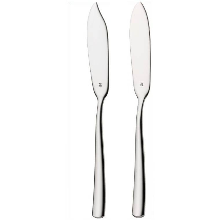 WMF Manaos-Bistro 18/10 Stainless Steel Butter Spreader, Set of 2