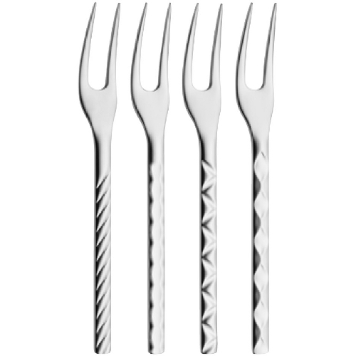 WMF 18/10 Stainless Steel Cocktail Fork, Set of 4