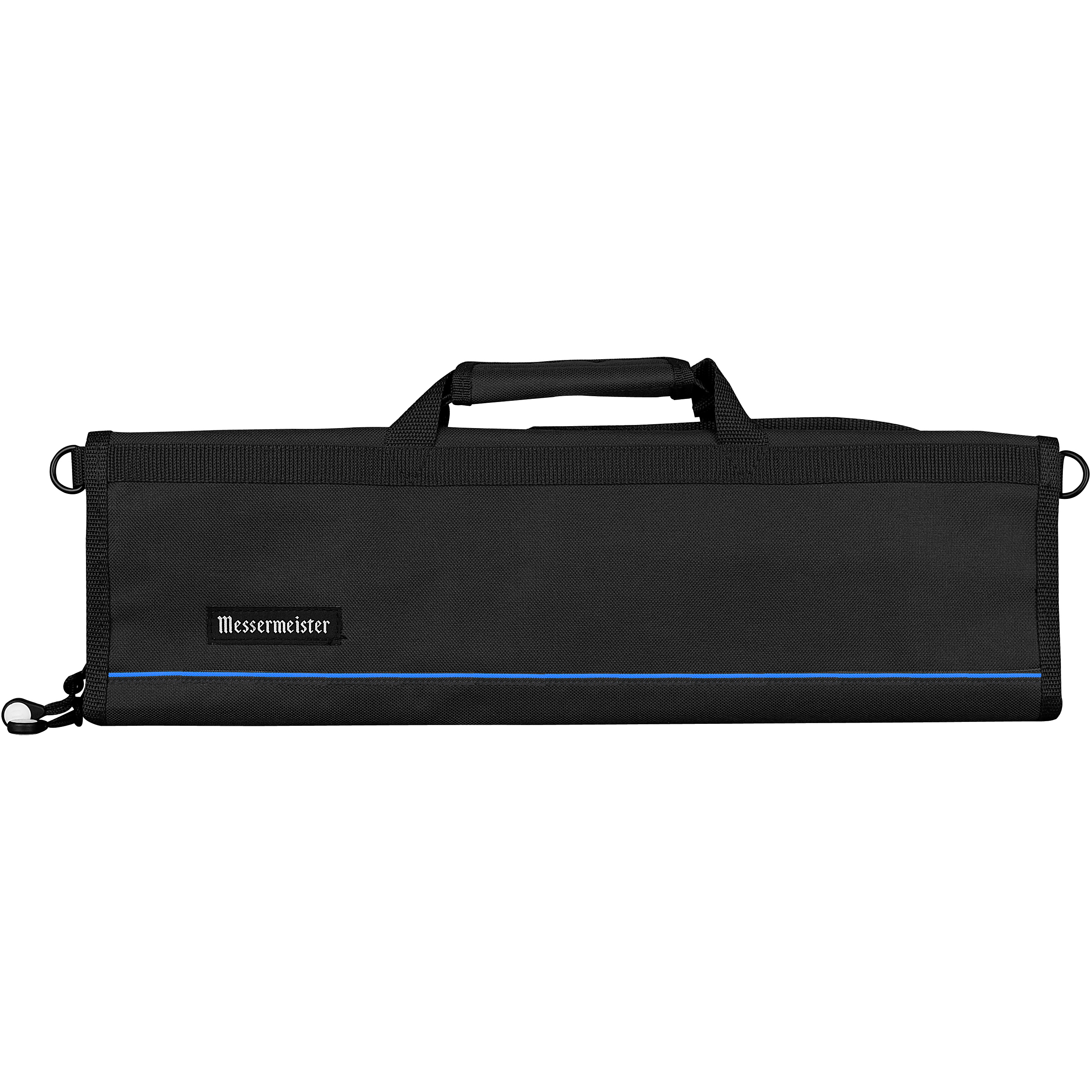 Messermeister Black Polyester 8 Pocket Padded Knife Bag