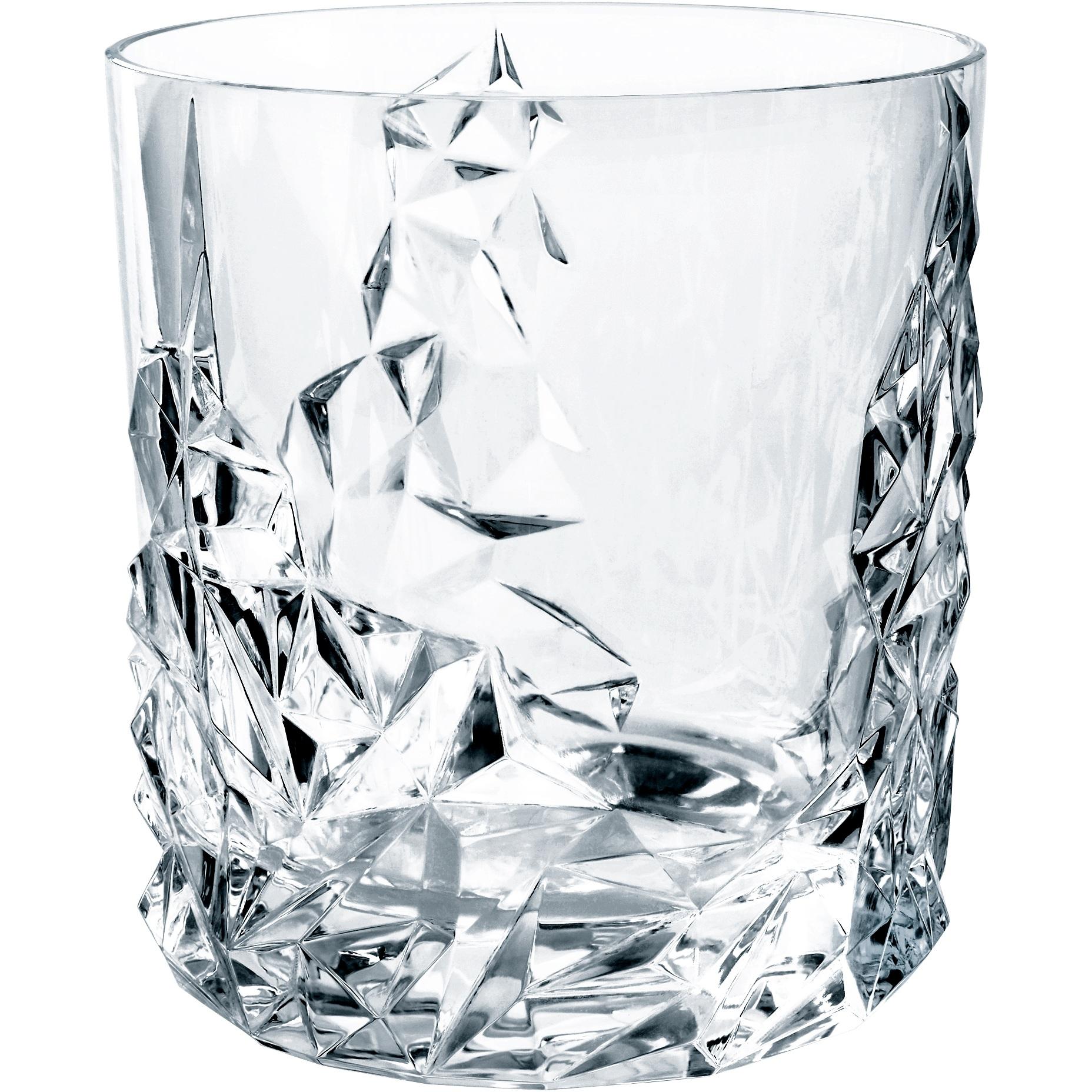 Nachtmann Sculpture Leaded Crystal Tumbler Glass, Set of 2