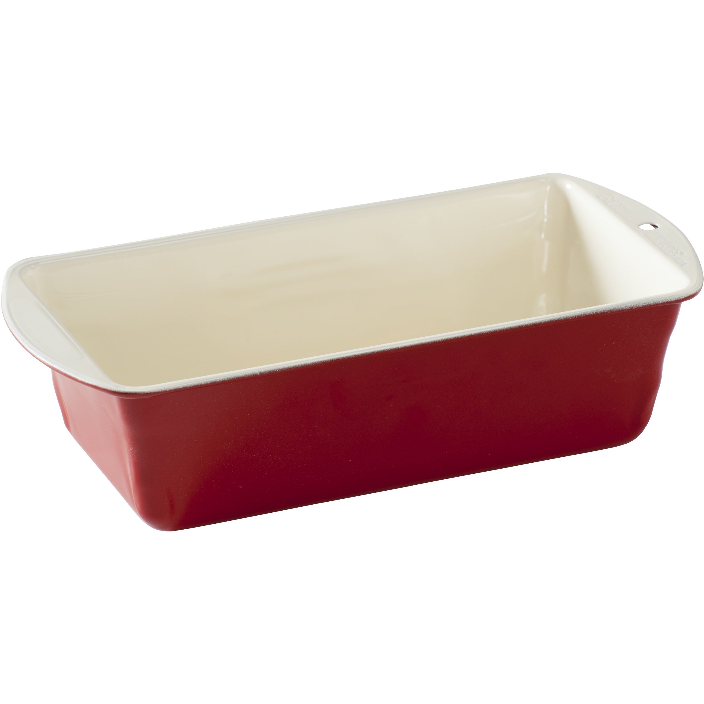 Nordic Ware Pro Form Colors Red Steel Bakeware 1 Pound Loaf Pan
