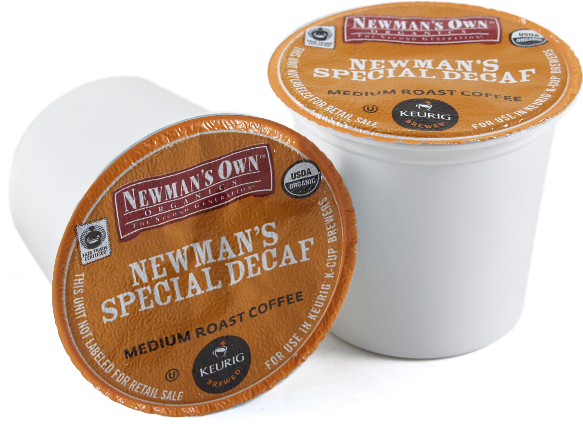 Newman's Own Organics Special Blend Decaf Coffee Keurig K-Cups, 180 Count - Exceeded Best-By Date