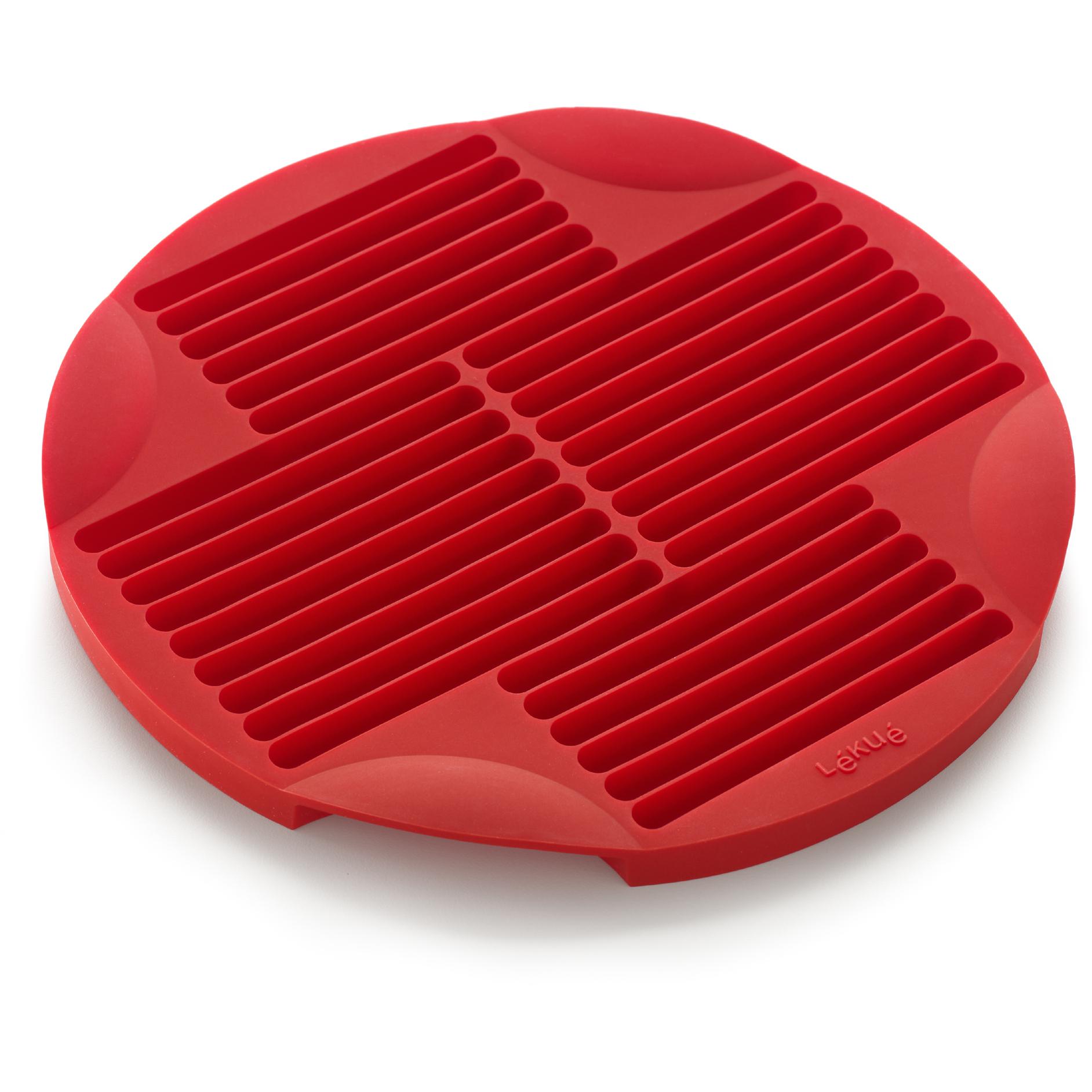 Lekue Red Silicone Bread Stick Mold
