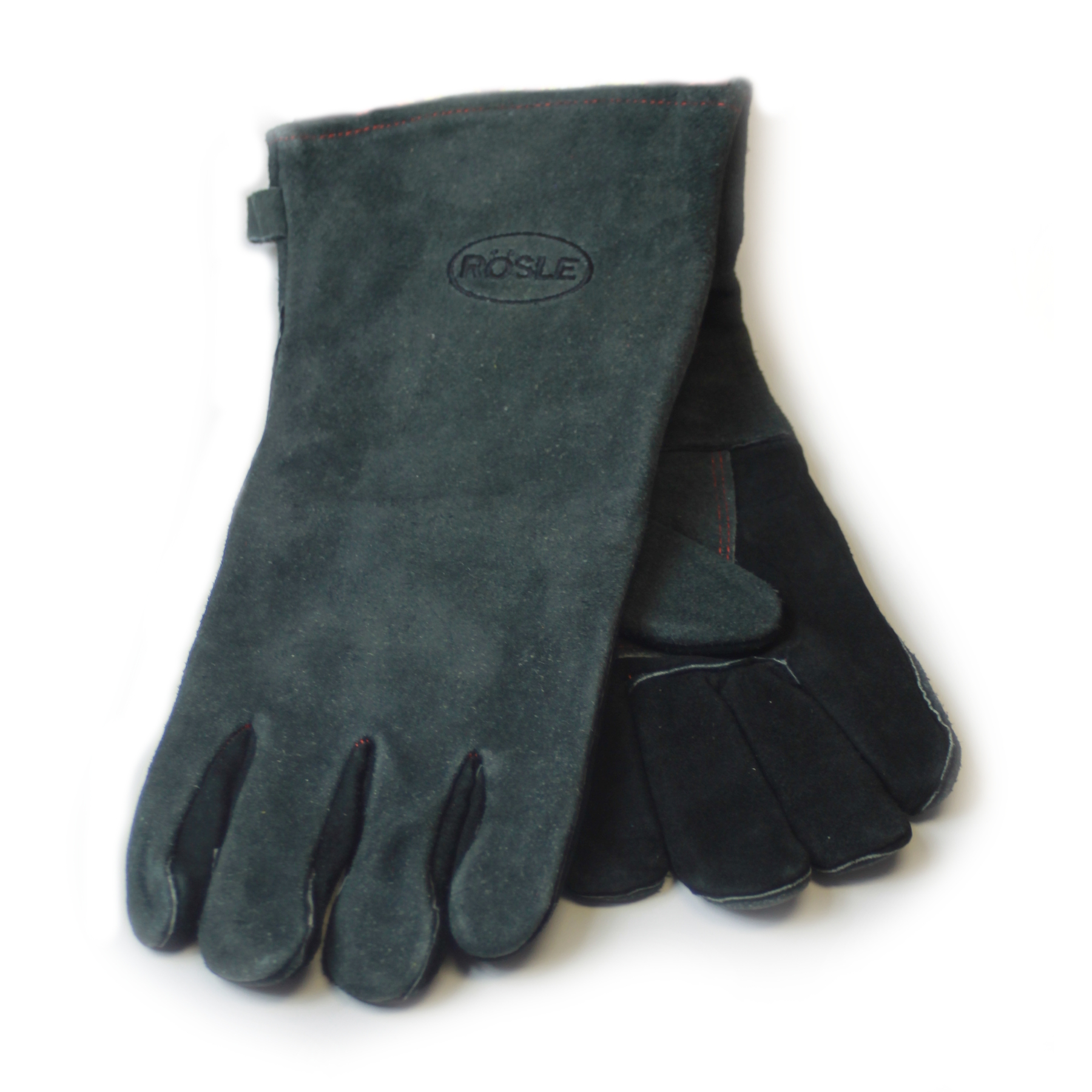 Rosle Leather Grilling Gloves, 16 Inch