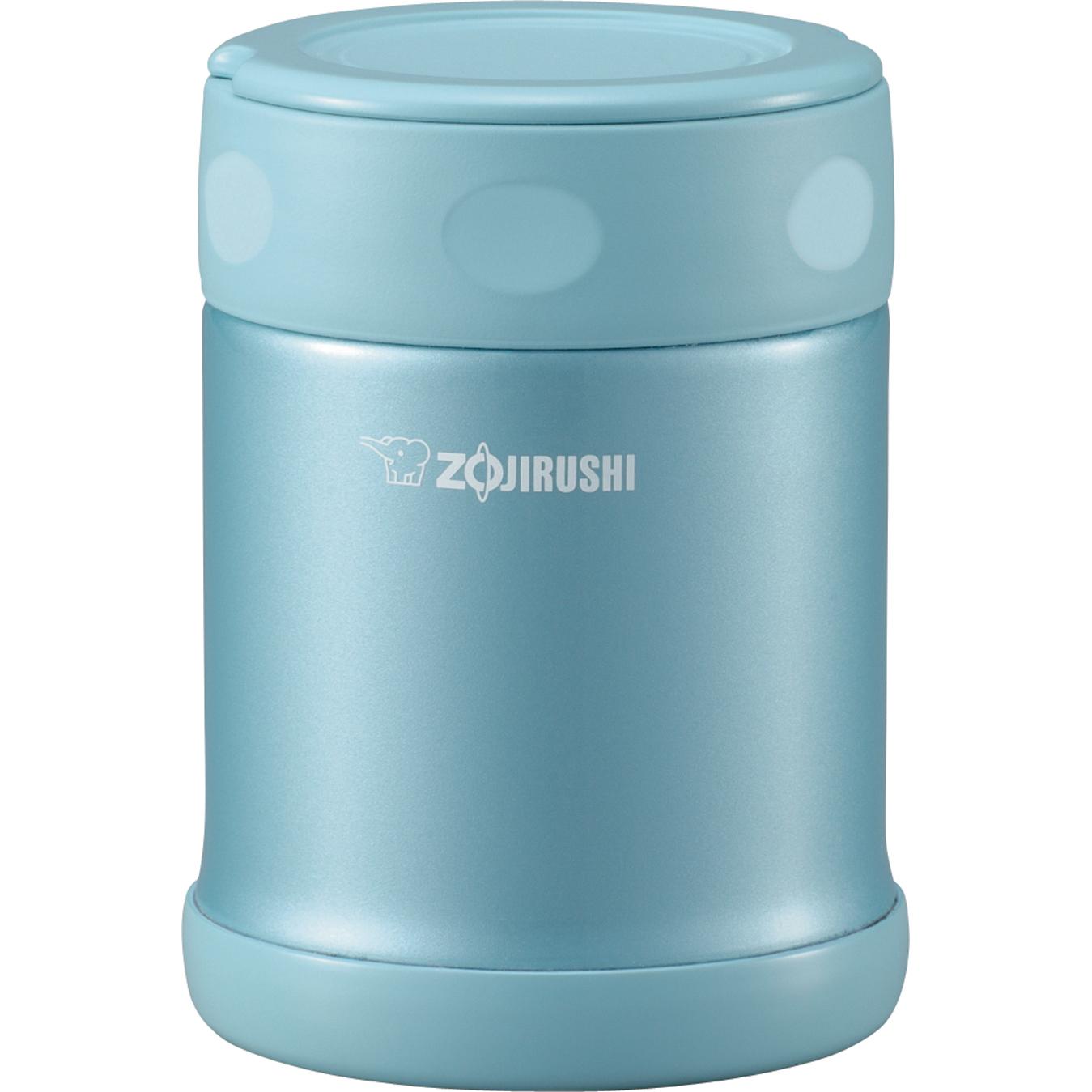 Zojirushi Aqua Blue 18/8 Stainless Steel Food Jar, 12 Ounce