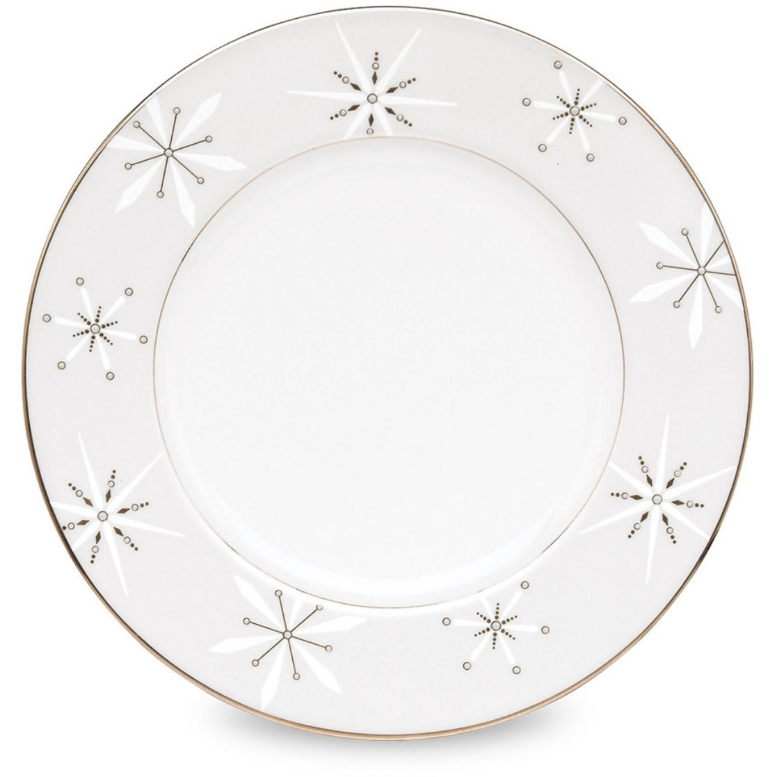 Lenox Federal Platinum Snowflake Accent Plate