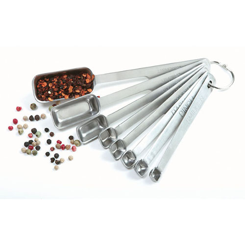 Norpro Stainless Steel 8 Piece Measuring Spoon Set