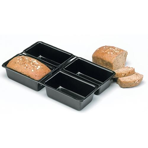 Norpro Nonstick 4 Cavity Rectangular Mini Loaf Pan