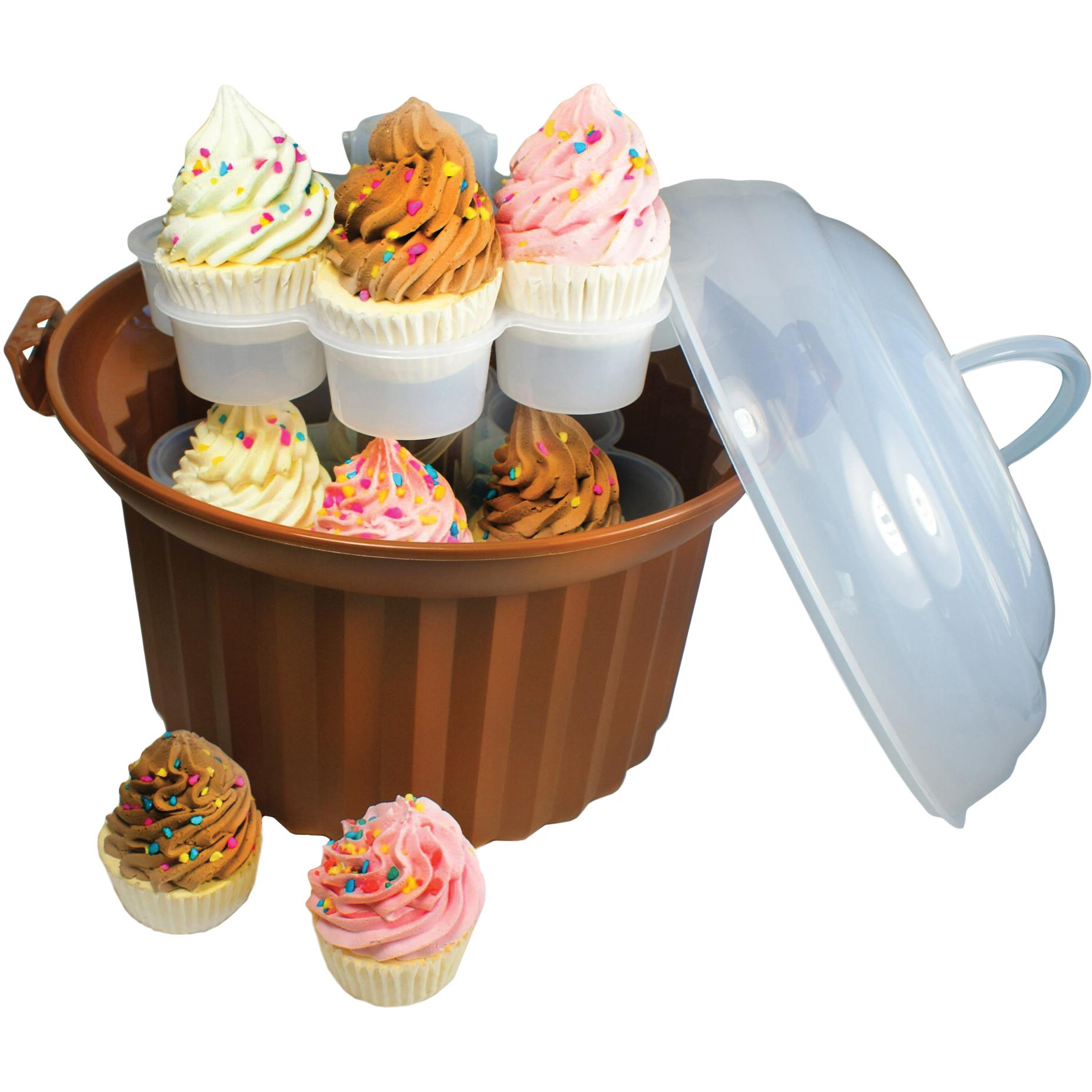 Foxrun Brown Cupcake Carousel