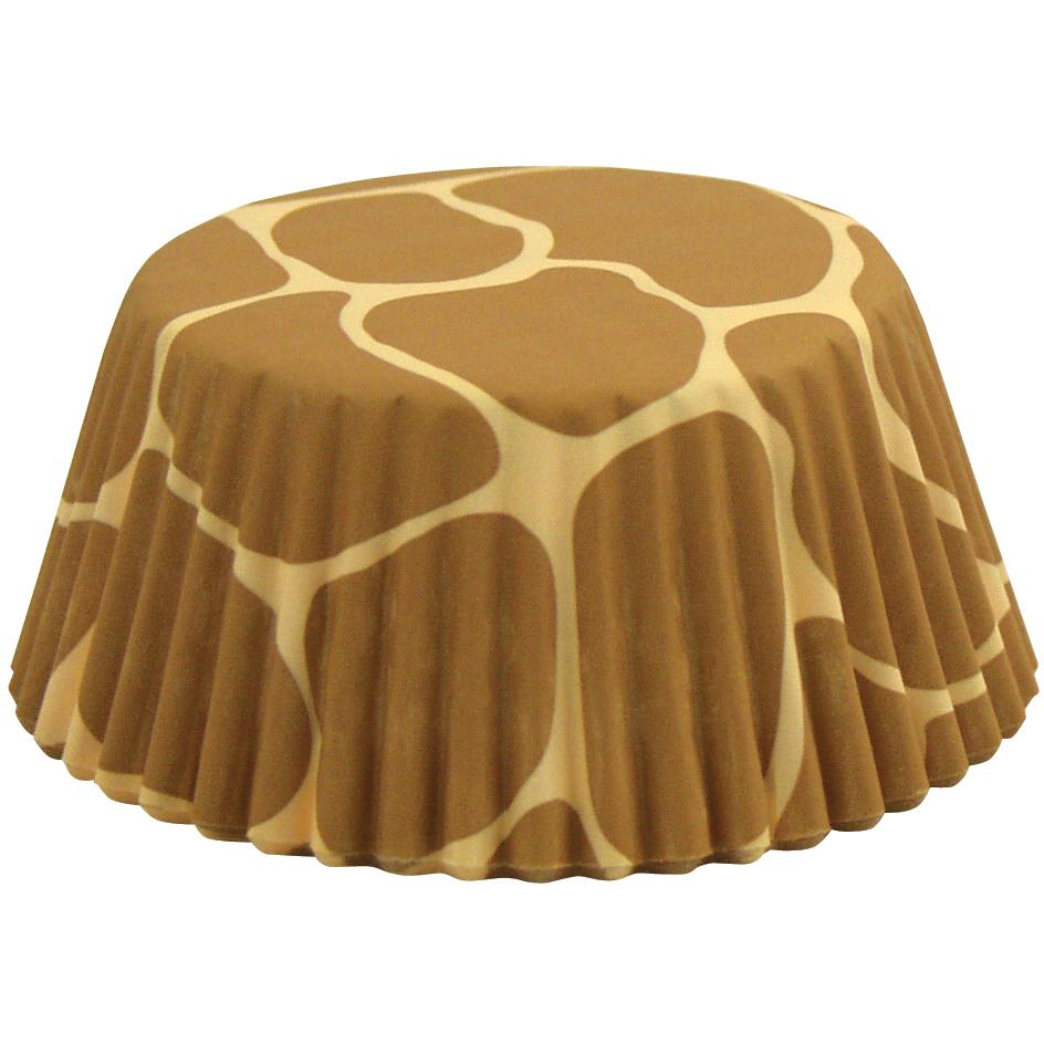 Foxrun Giraffe Standard Baking Cup, Set of 50