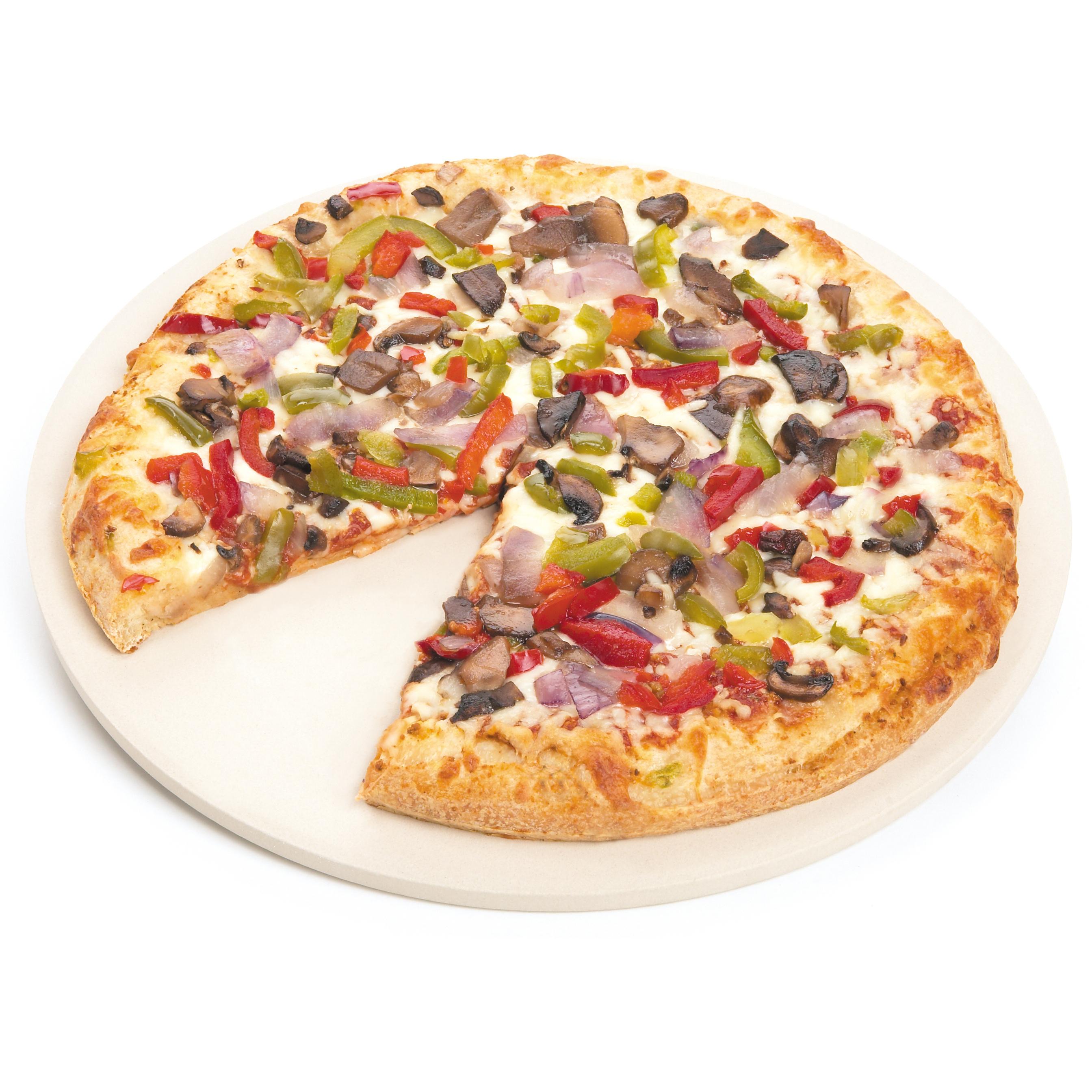 Foxrun Round Pizza Stone, 13 Inch