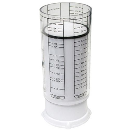 Foxrun Kitchen Art White Adjust-A-Cup, 2 Cup