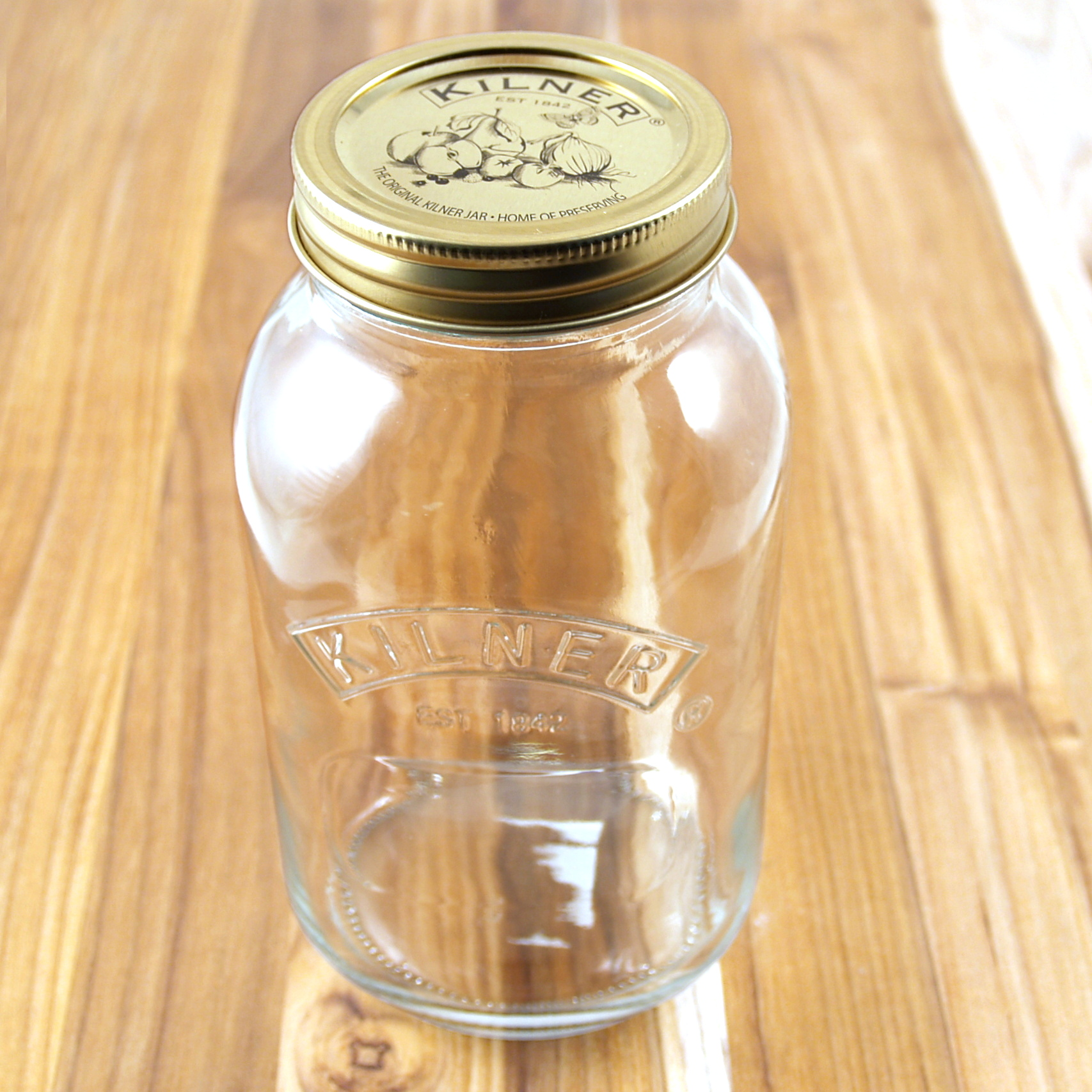 Kilner Glass Preserve Jar, 34 Ounce