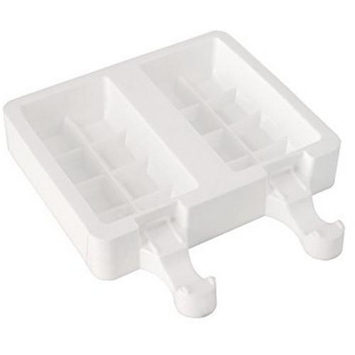 Silikomart Easy Cream White Silicone Chocostick Ice Cream Bar Mold Set