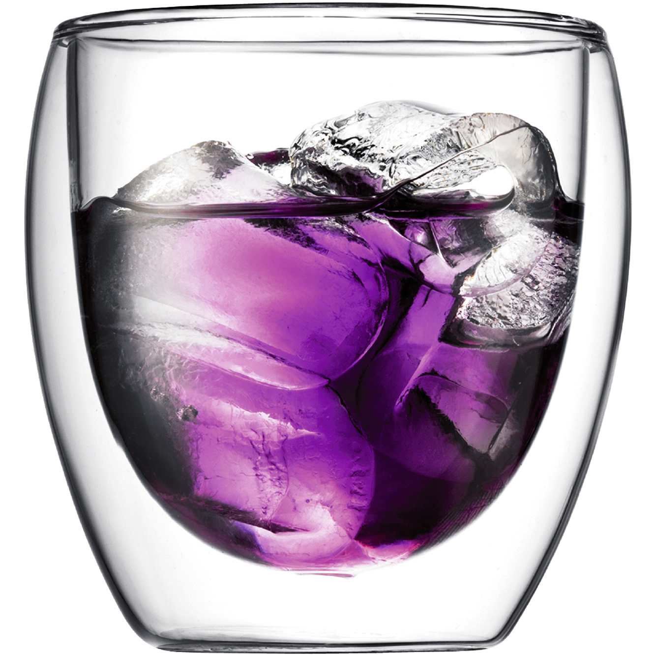 Bodum Pavina 8 Ounce Double-Walled Insulated Glass, Set of 2