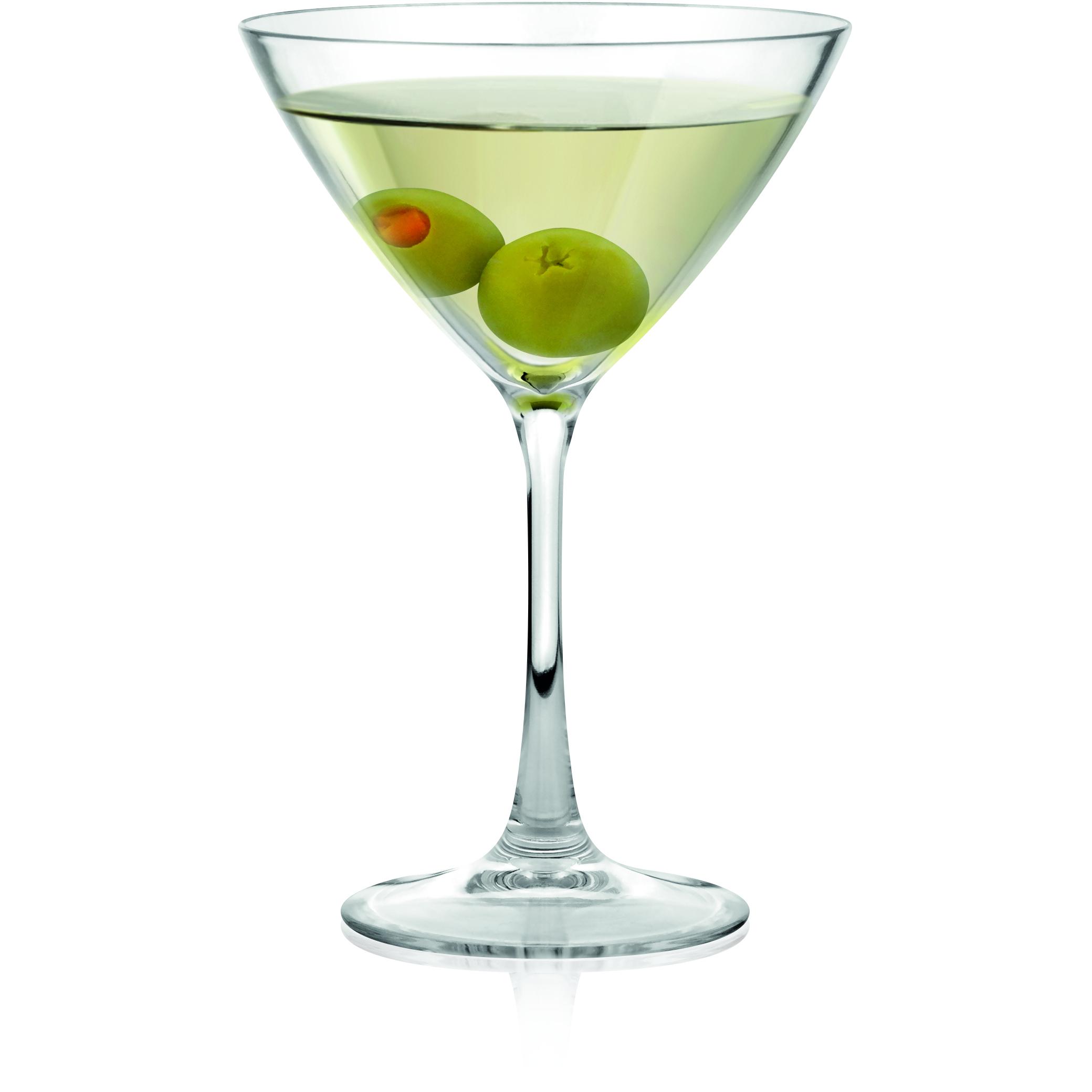 BarLuxe Specialty Collection Tritan Martini Glass, 6 Ounce