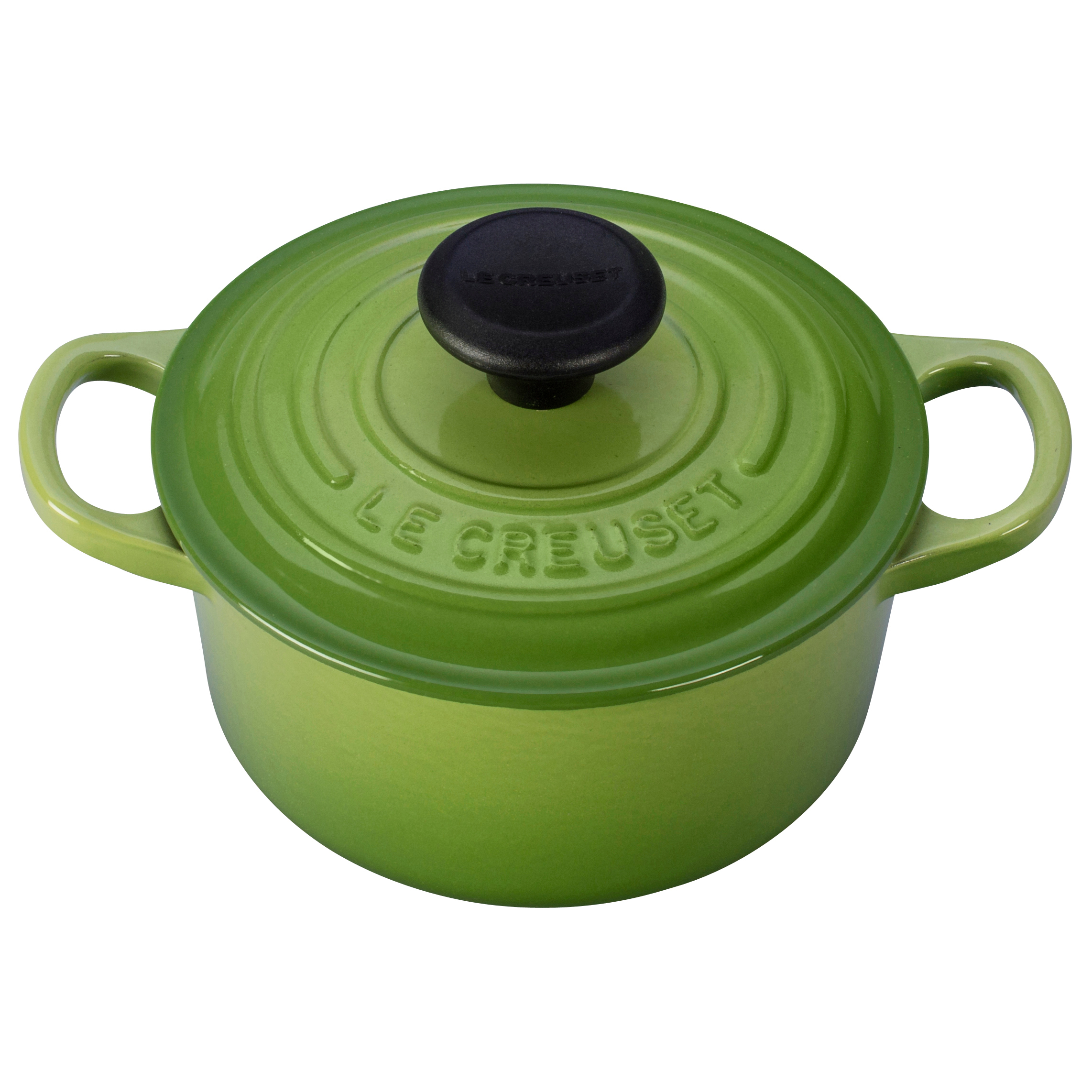 Le Creuset Signature Palm Enameled Cast Iron Round French Oven, 1 Quart