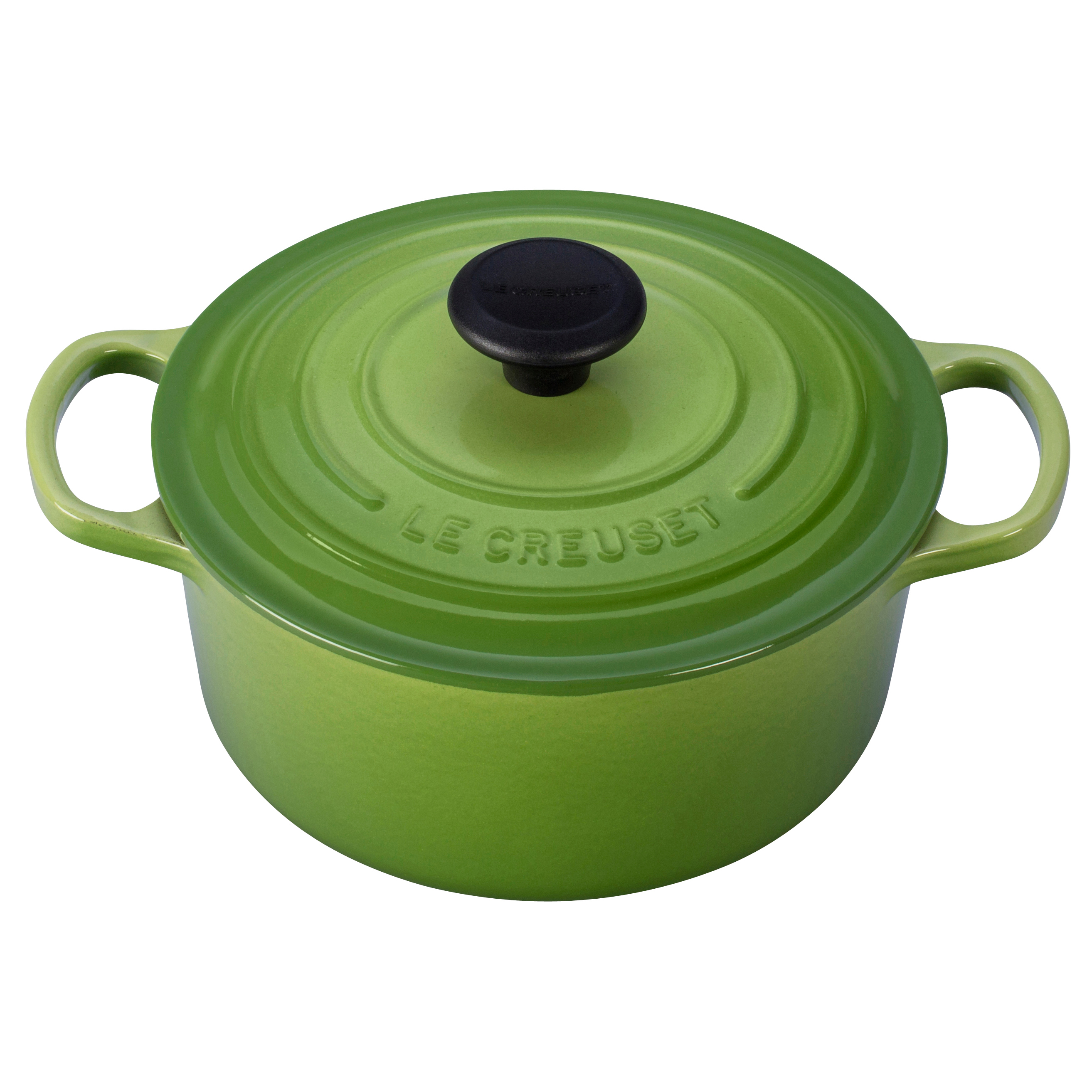 Le Creuset Signature Palm Enameled Cast Iron Round French Oven, 2 Quart
