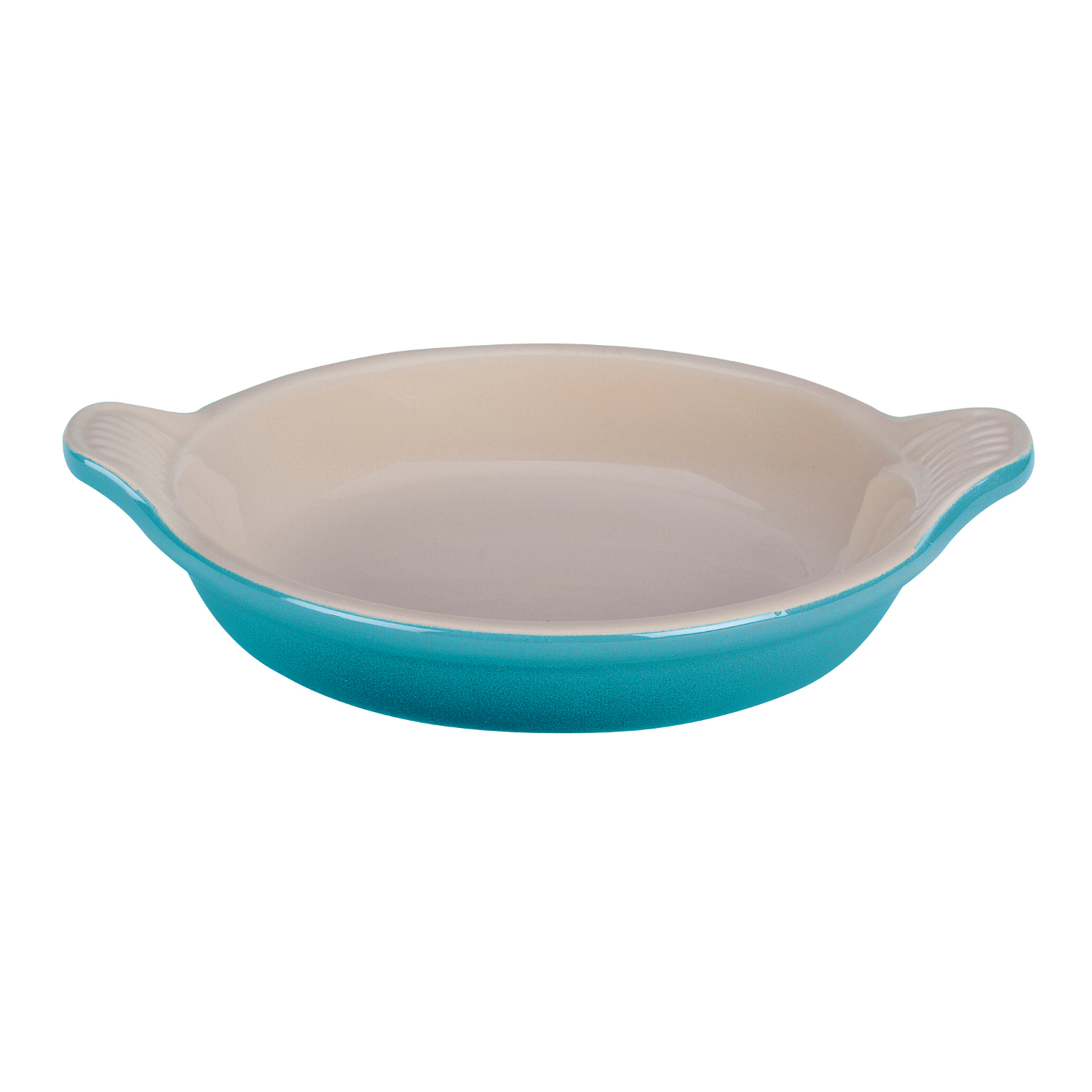 Le Creuset Caribbean Stoneware Creme Brulee Dish, 7 Ounce