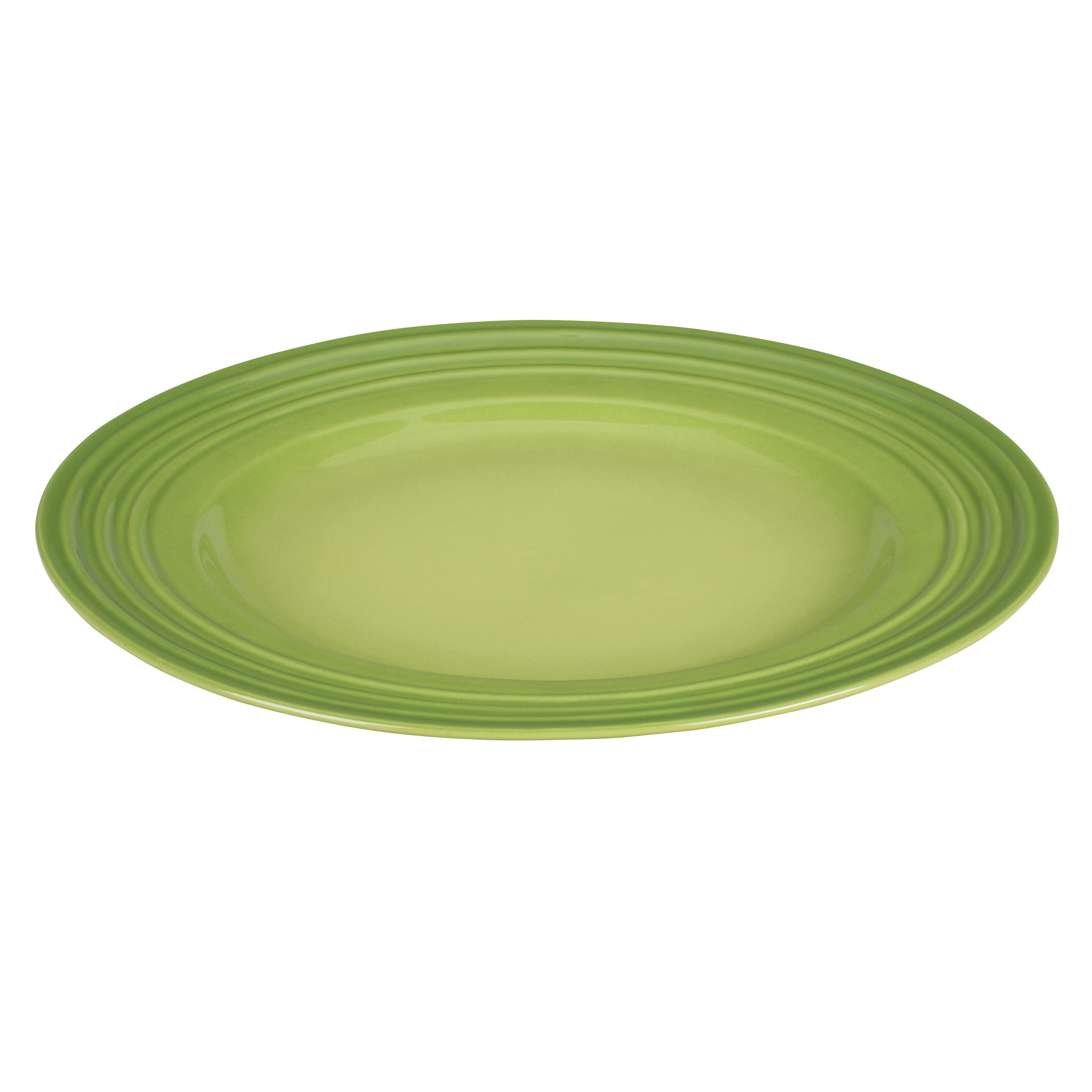 Le Creuset Palm Stoneware Dinner Plate, 12 Inch