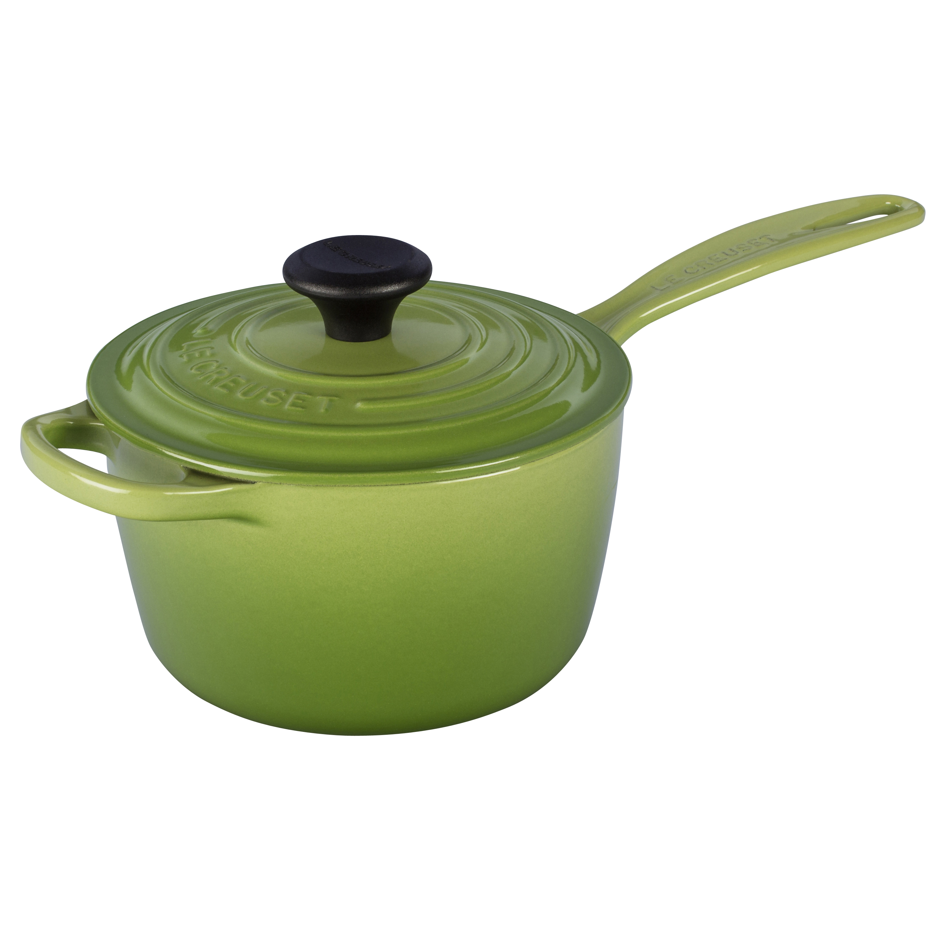 Le Creuset Signature Palm Cast Iron 1.75 Quart Saucepan
