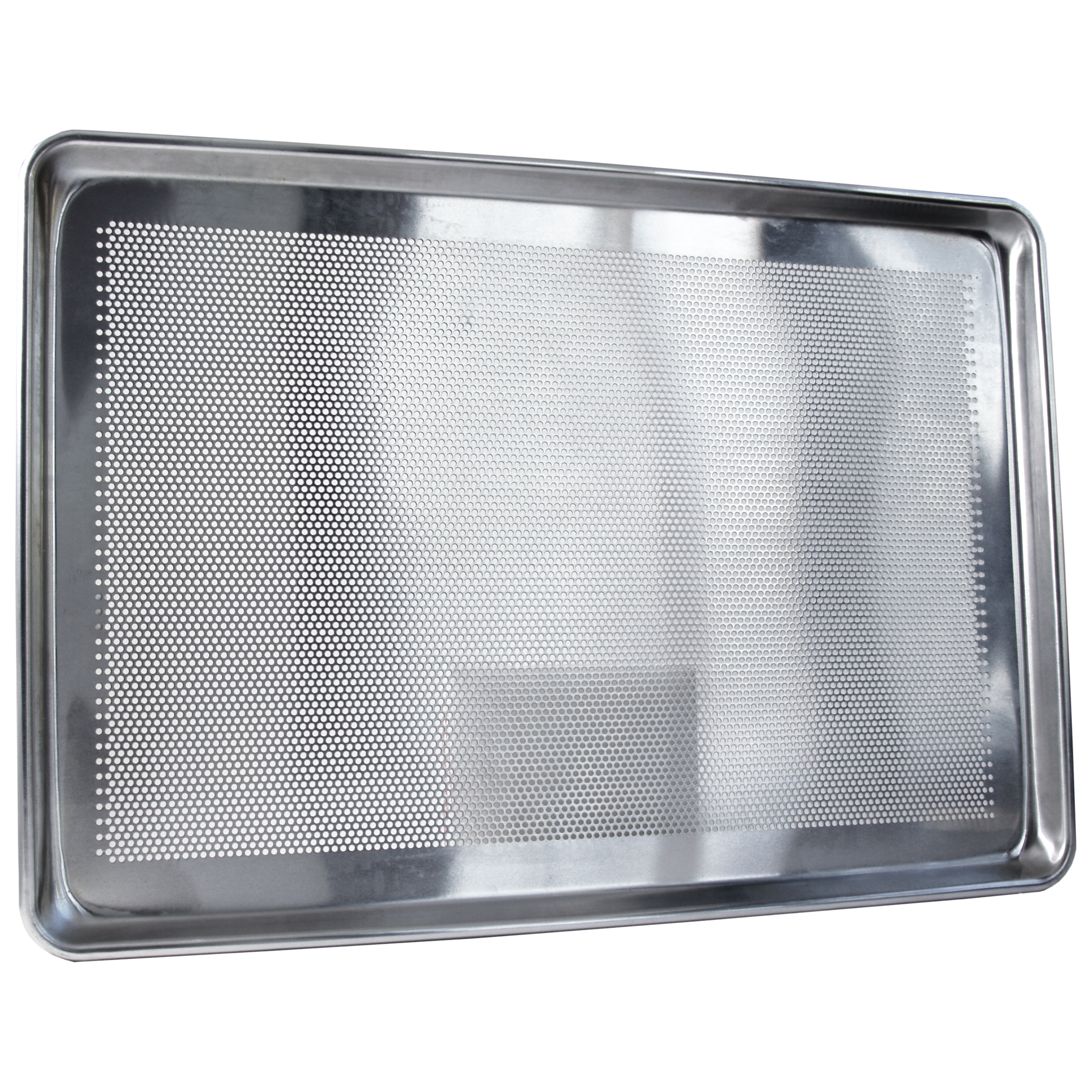 Focus Foodservice Commercial Bakeware Perforated Aluminum Sheet Pan, 12 x 18 Inch