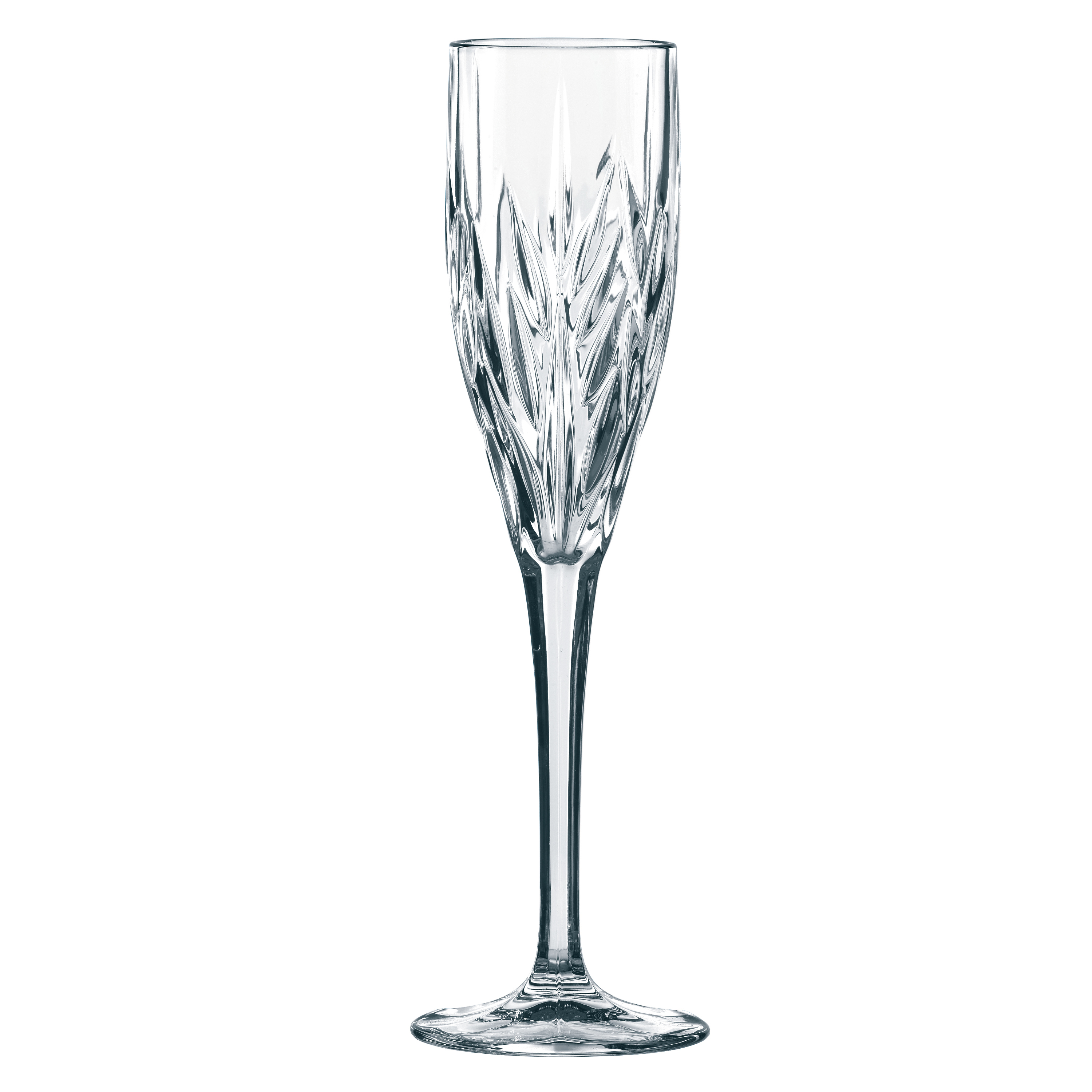 Nachtmann Imperial Leaded Crystal Sparkling Wine Glass, Set of 4