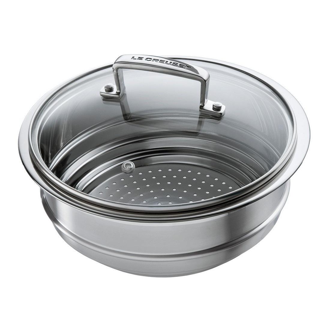 Le Creuset Stainless Steel Steamer Insert, 2.75 Quart