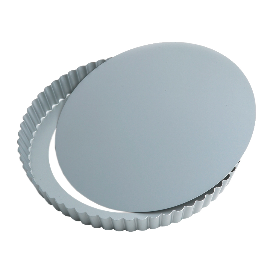 Foxrun Preferred Non-stick Round Loose Bottom Quiche Pan, 9 Inch