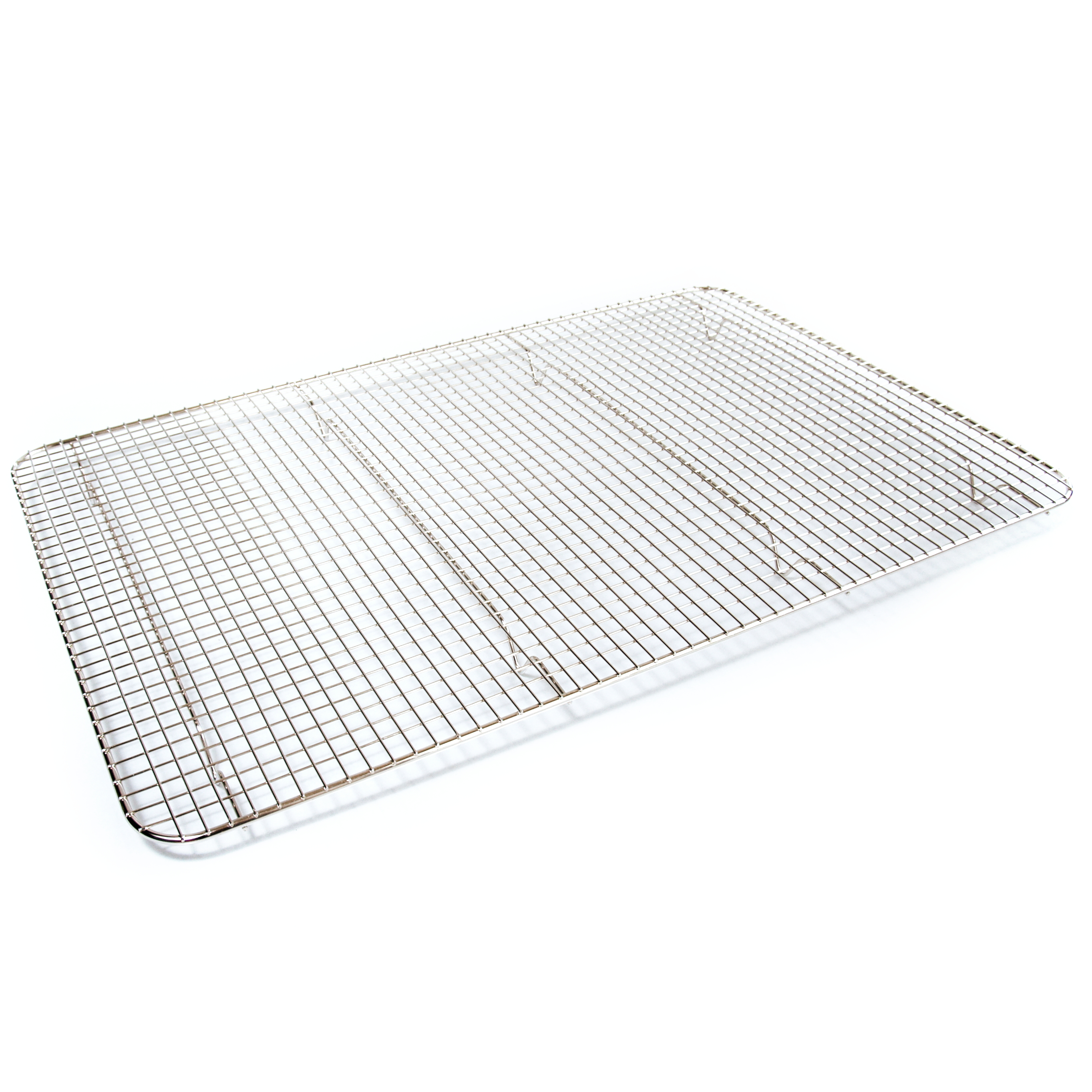 Browne Basics Double Nickel Plated Rectangular Cooling Grate, 24 x 16 Inch