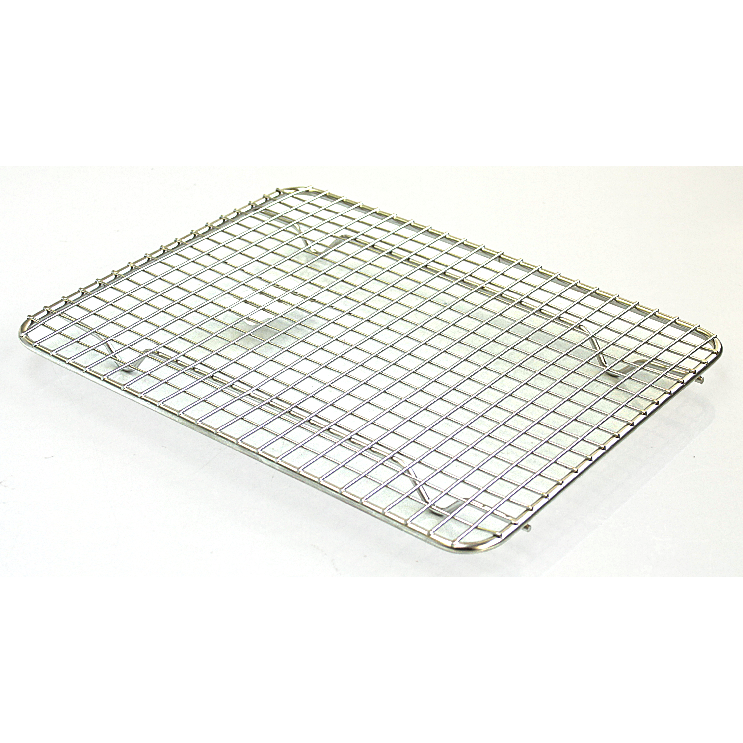 Browne Basics Double Nickel Plated Rectangular Cooling Grate, 10 x 8 Inch
