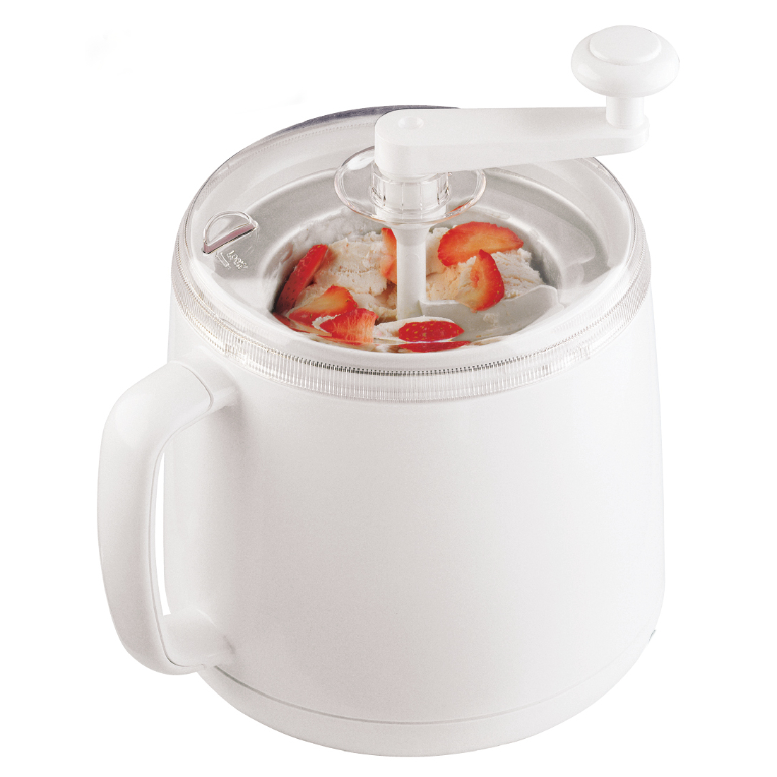 Cuisipro Donvier White Ice Cream Maker